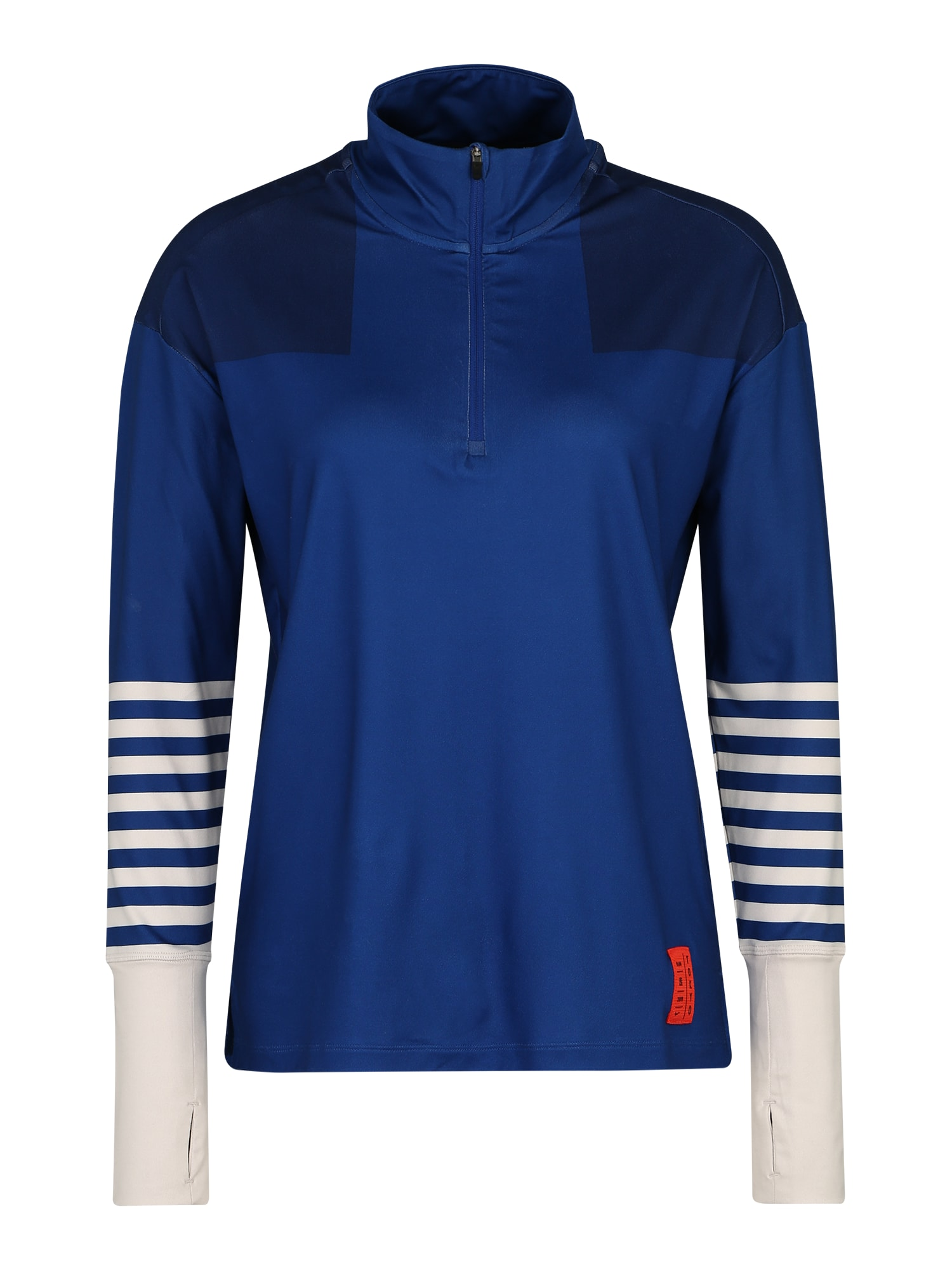Funkční tričko W NK ELMNT TOP HZ TKO modrá NIKE