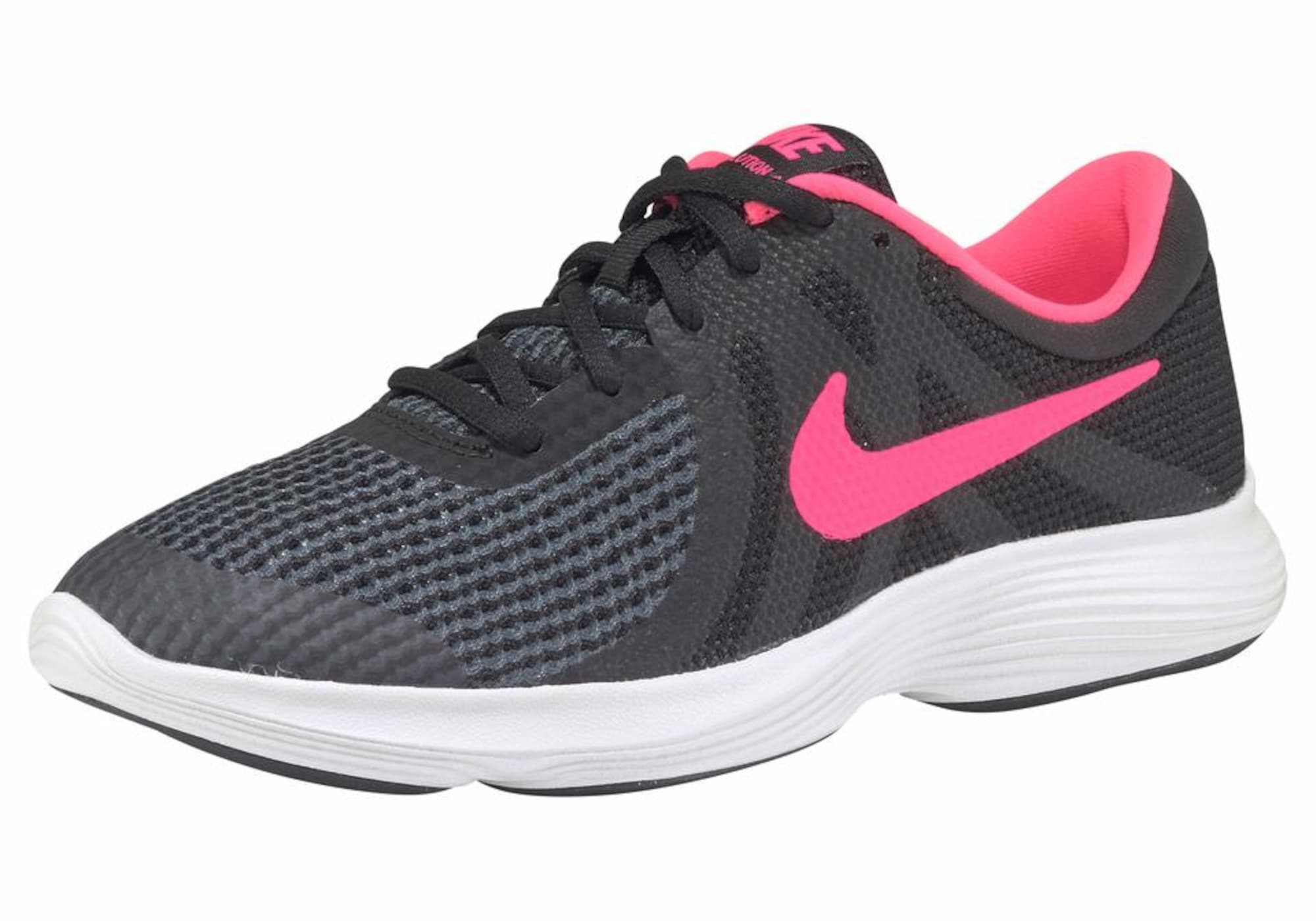 Sportovní boty antracitová svítivě růžová NIKE
