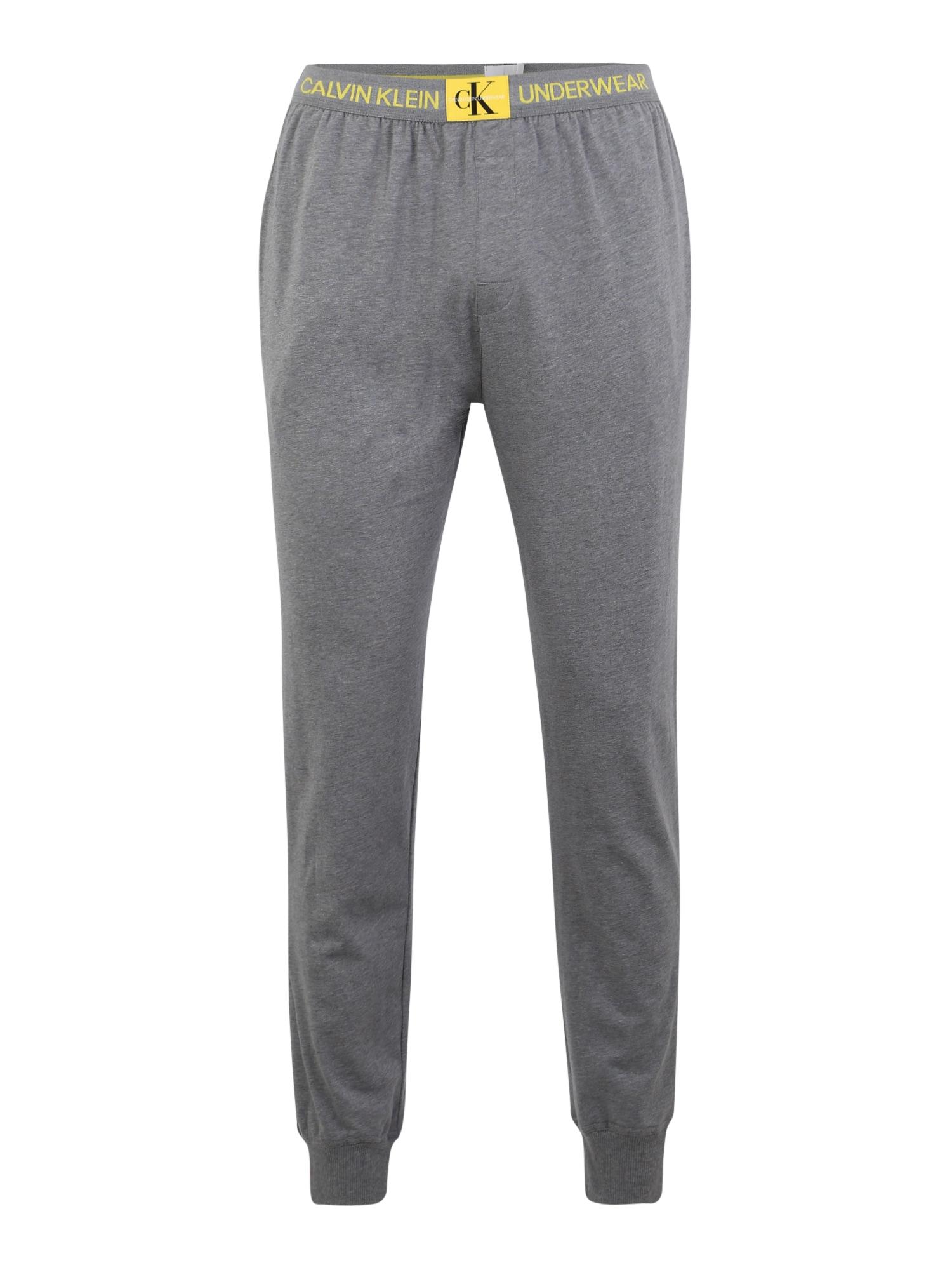 Pyžamové kalhoty čedičová šedá Calvin Klein Underwear