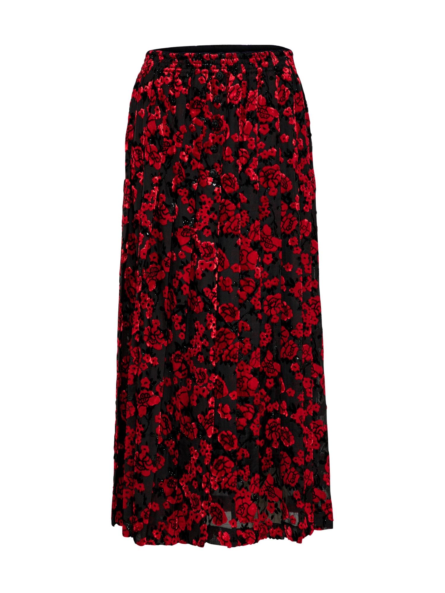 Sukně červená černá The Kooples