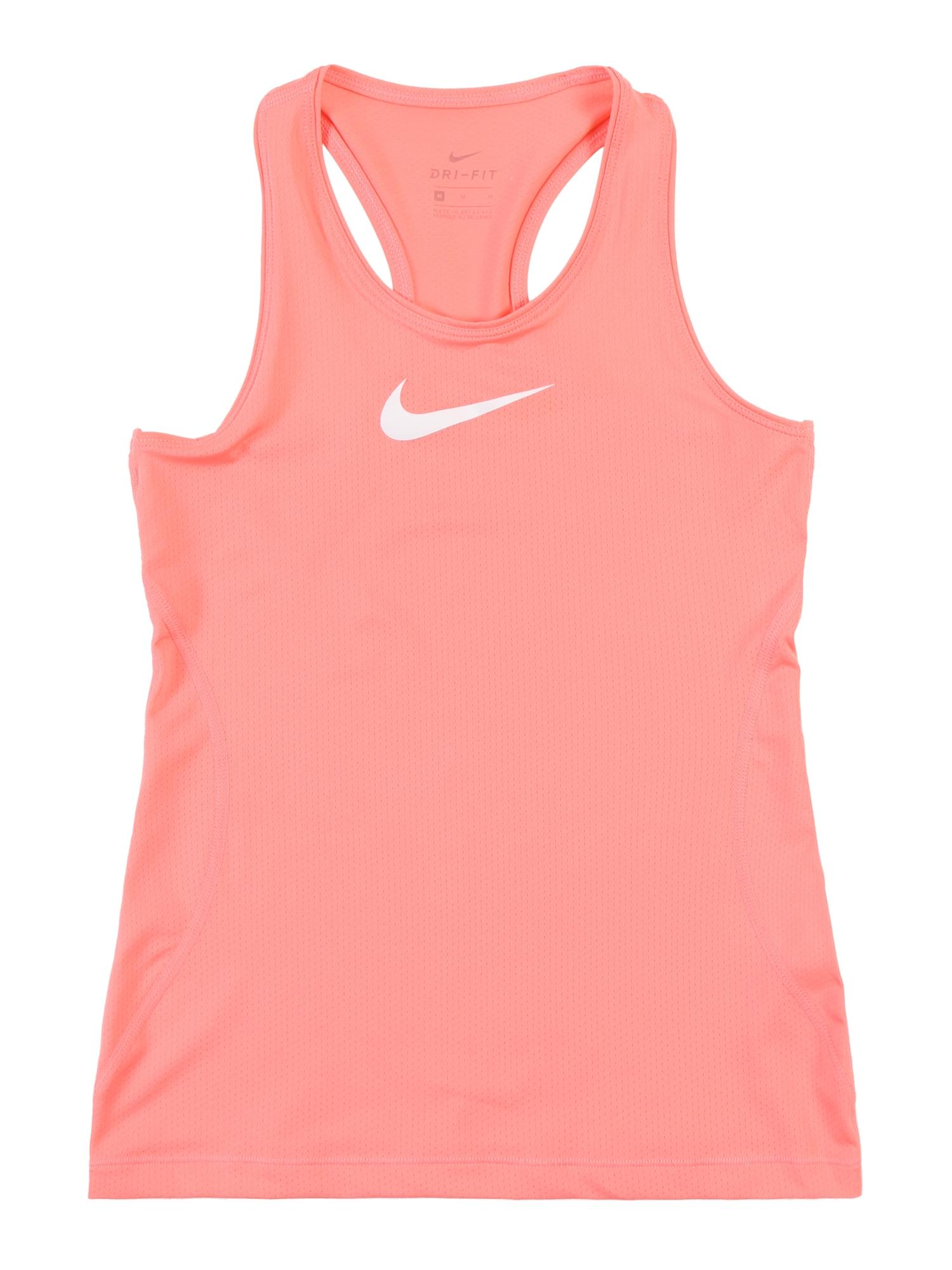 Sportovní top Pro pink NIKE