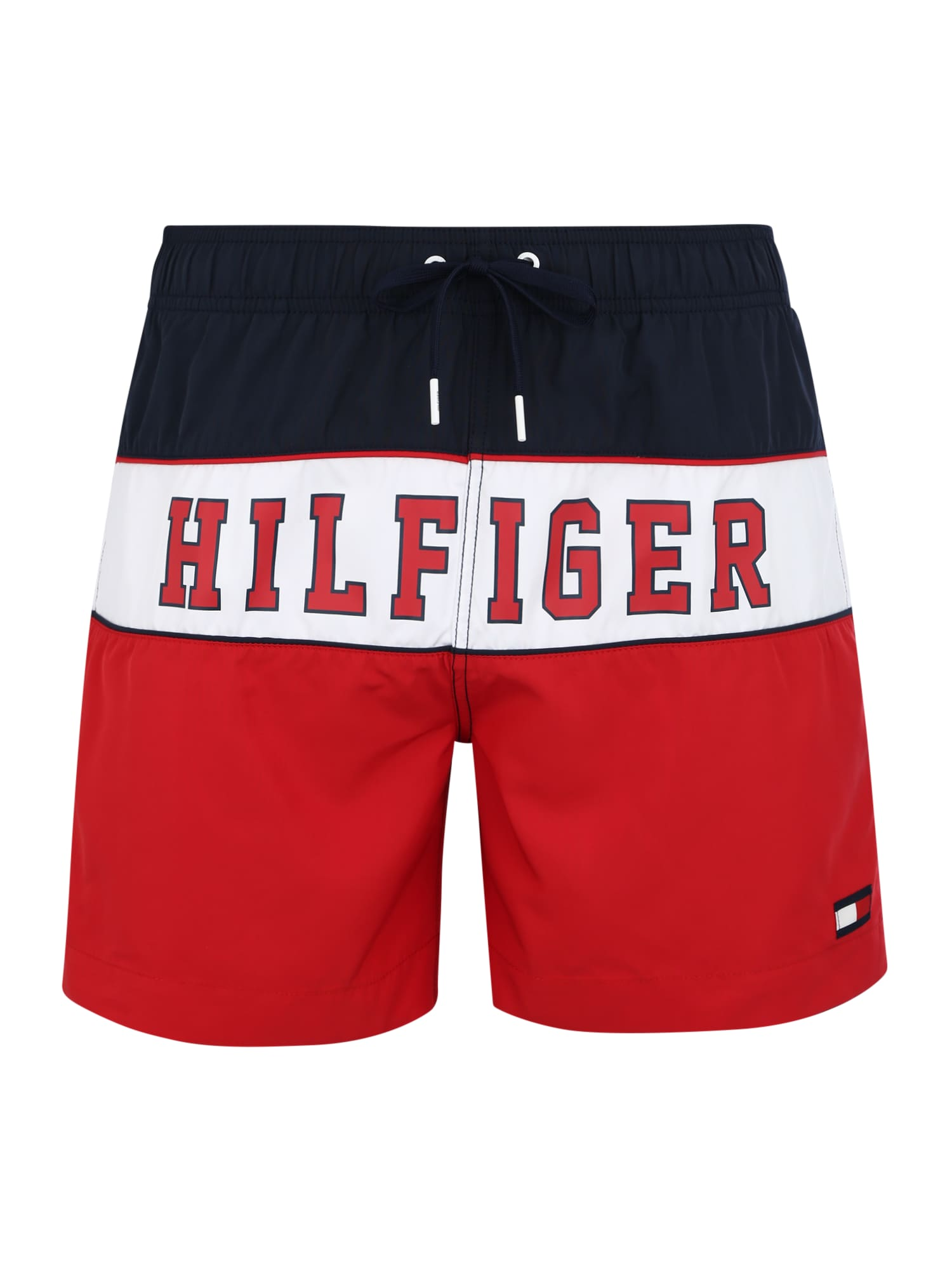 Plavecké šortky červená Tommy Hilfiger Underwear