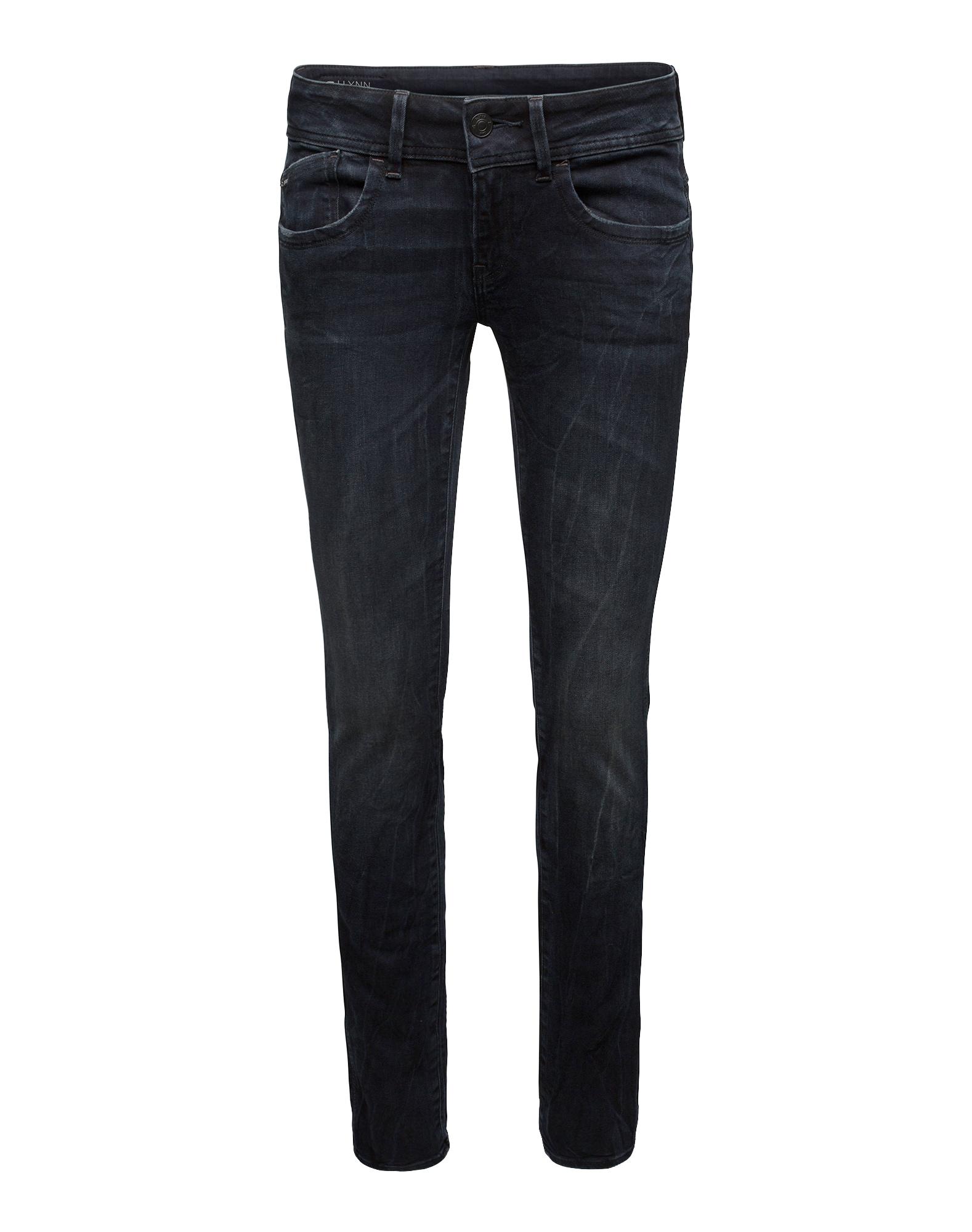 G-STAR RAW Dames Jeans Lynn Mid Skinny nachtblauw donkerblauw
