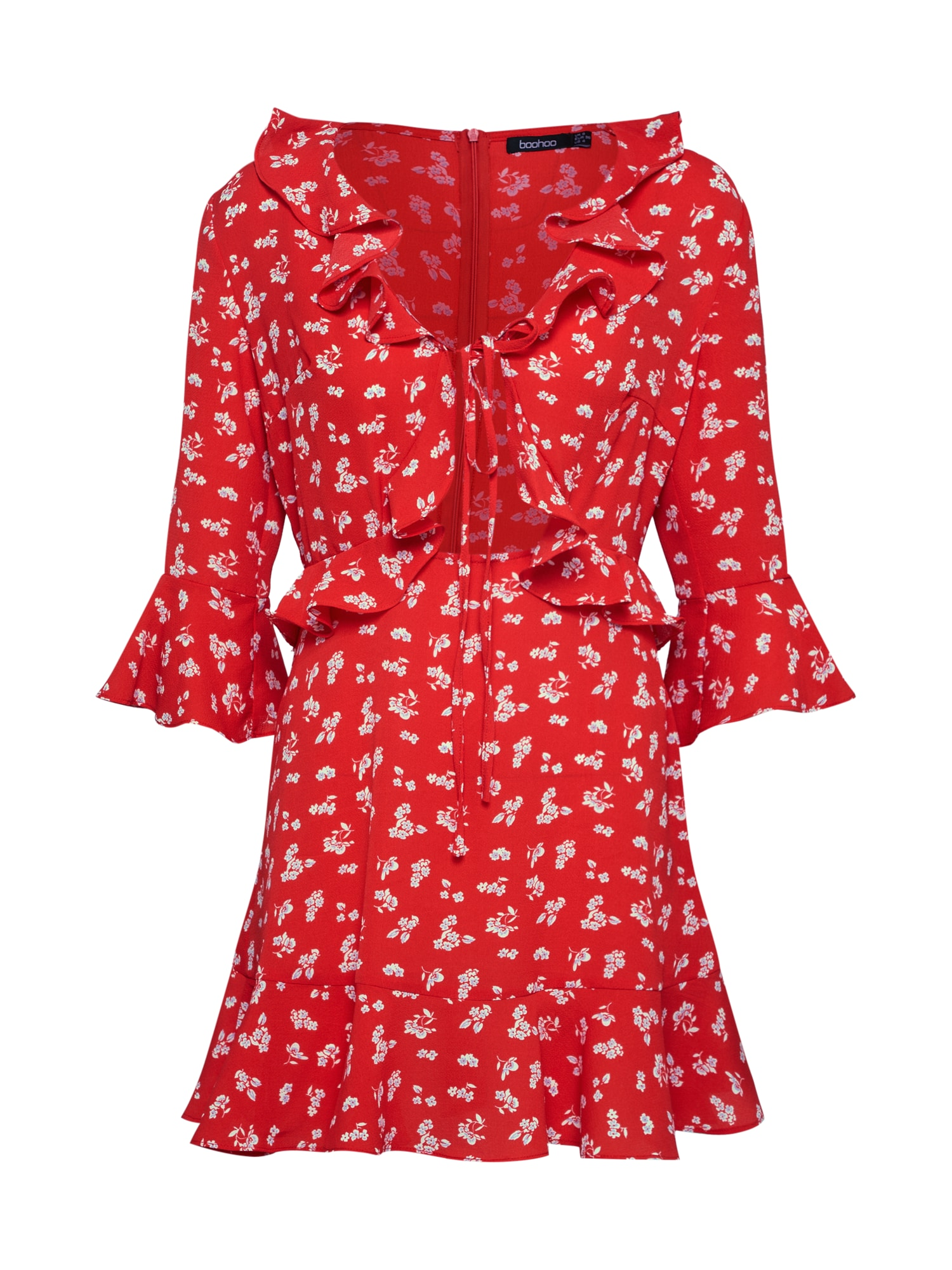Šaty Verena červená Boohoo