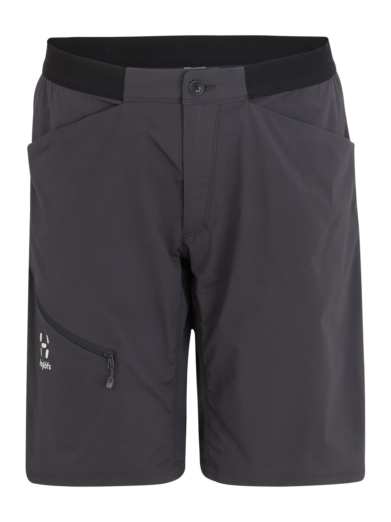 Sportovní kalhoty L.I.M Fuse Shorts Women tmavě šedá Haglöfs