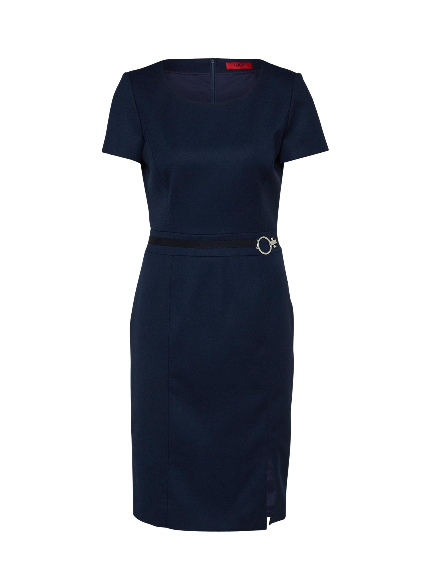 HUGO Puzdrové šaty 'Kinosi'  námornícka modrá