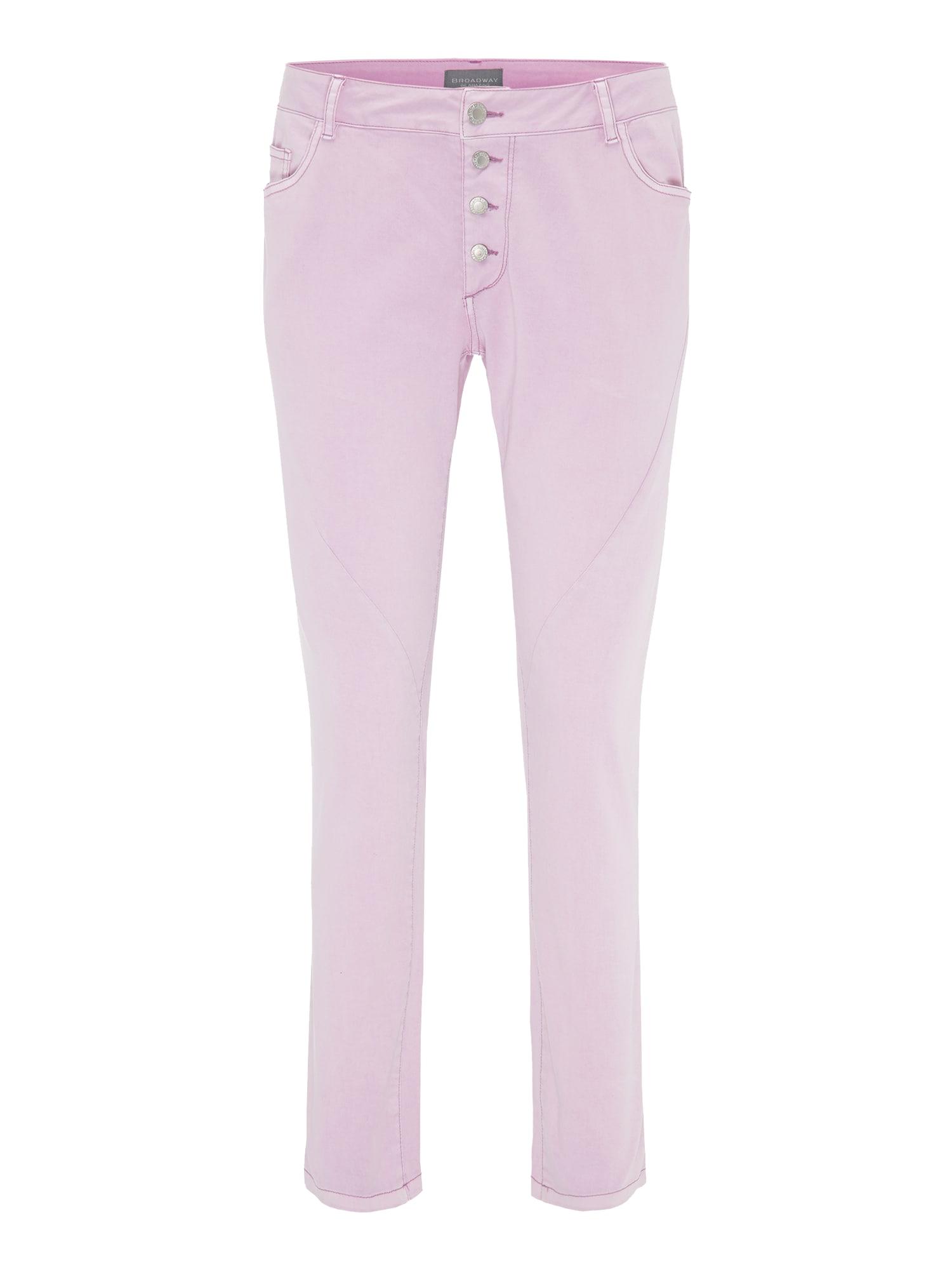 Kalhoty AMY růžová BROADWAY NYC FASHION
