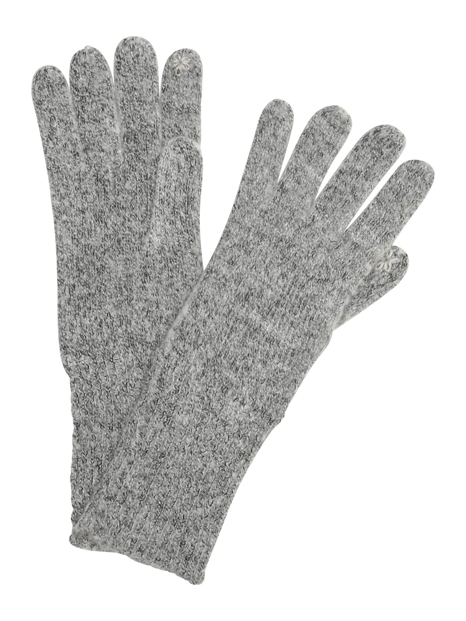 Prstové rukavice světle šedá ESPRIT