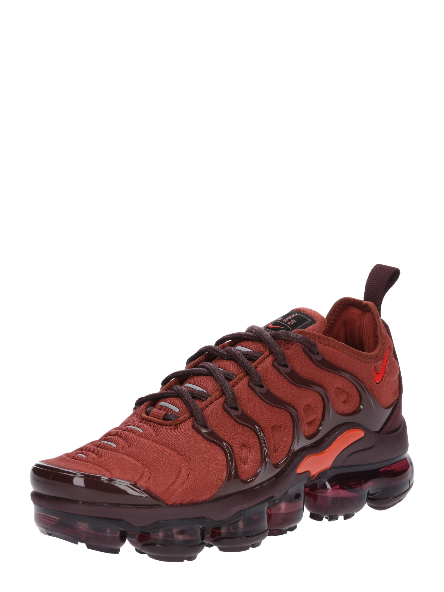 Nike Sportswear, Dames Sneakers laag 'W AIR VAPORMAX PLUS', rood / bordeaux