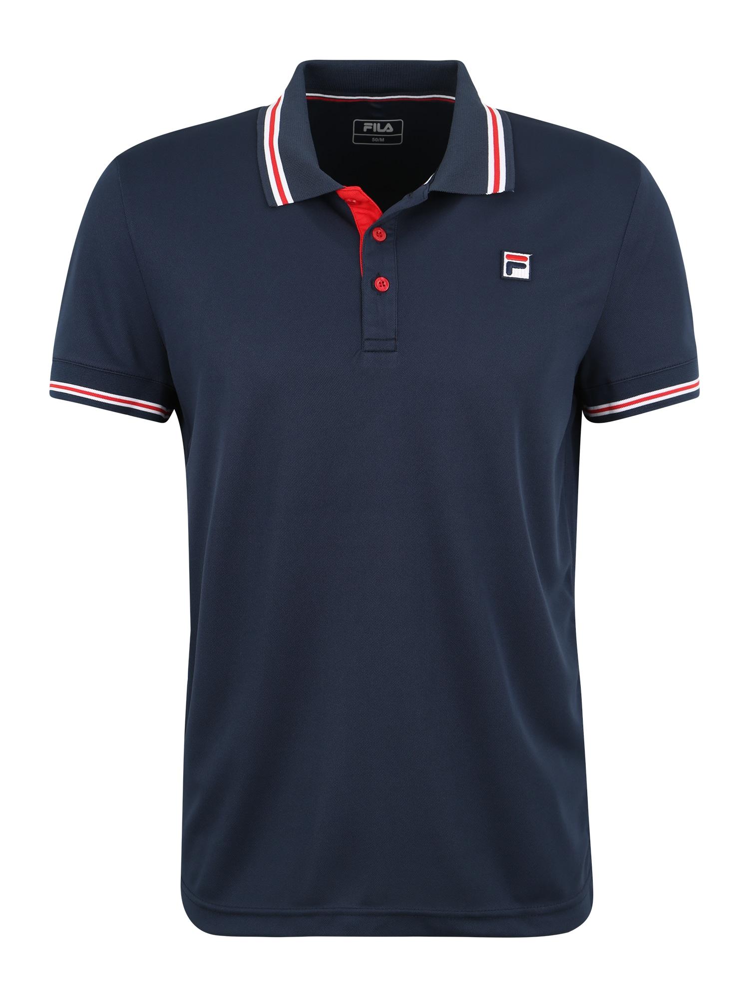 Funkční tričko Polo Button Piro modrá FILA