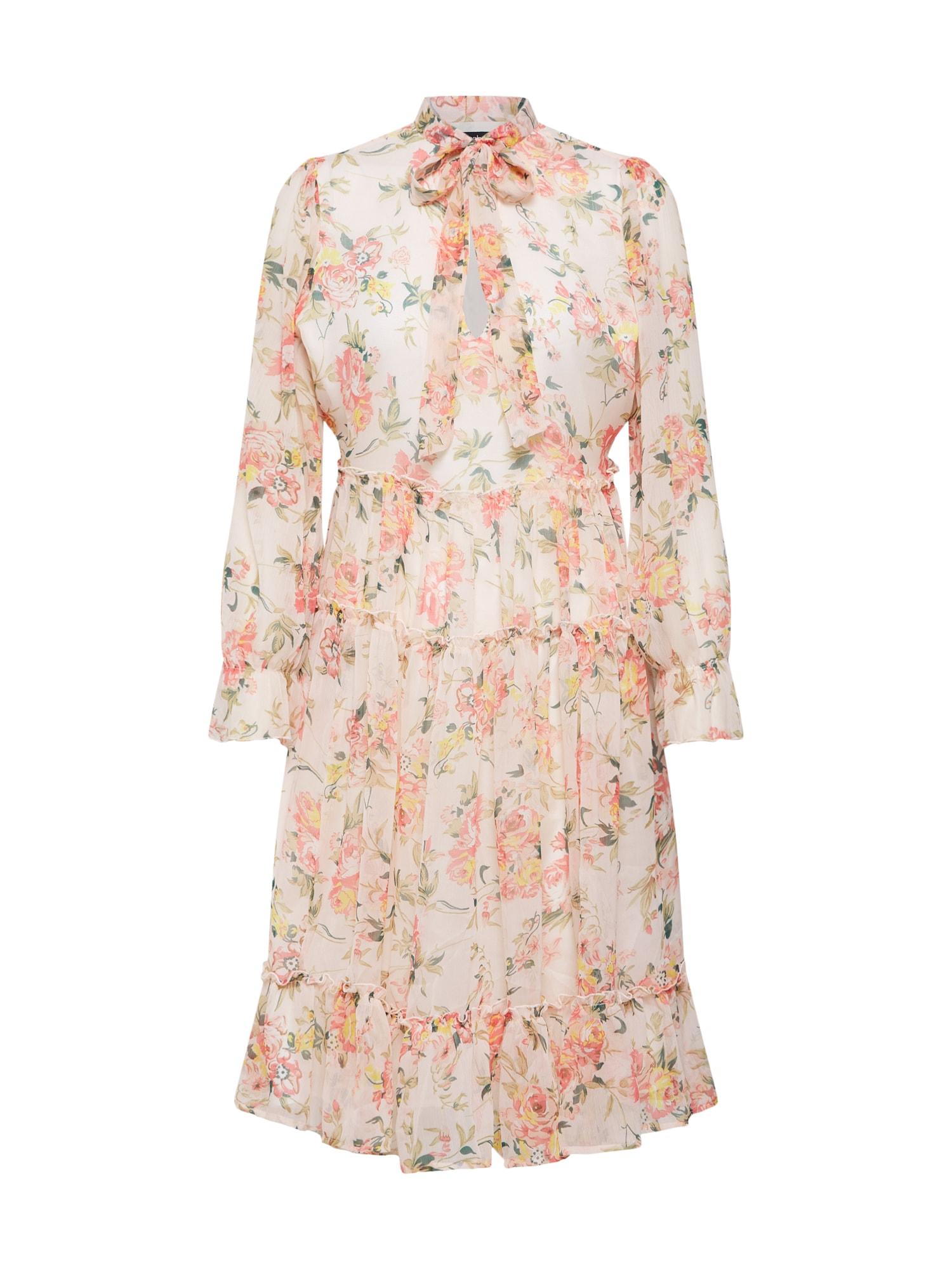 Letní šaty růžová Boohoo