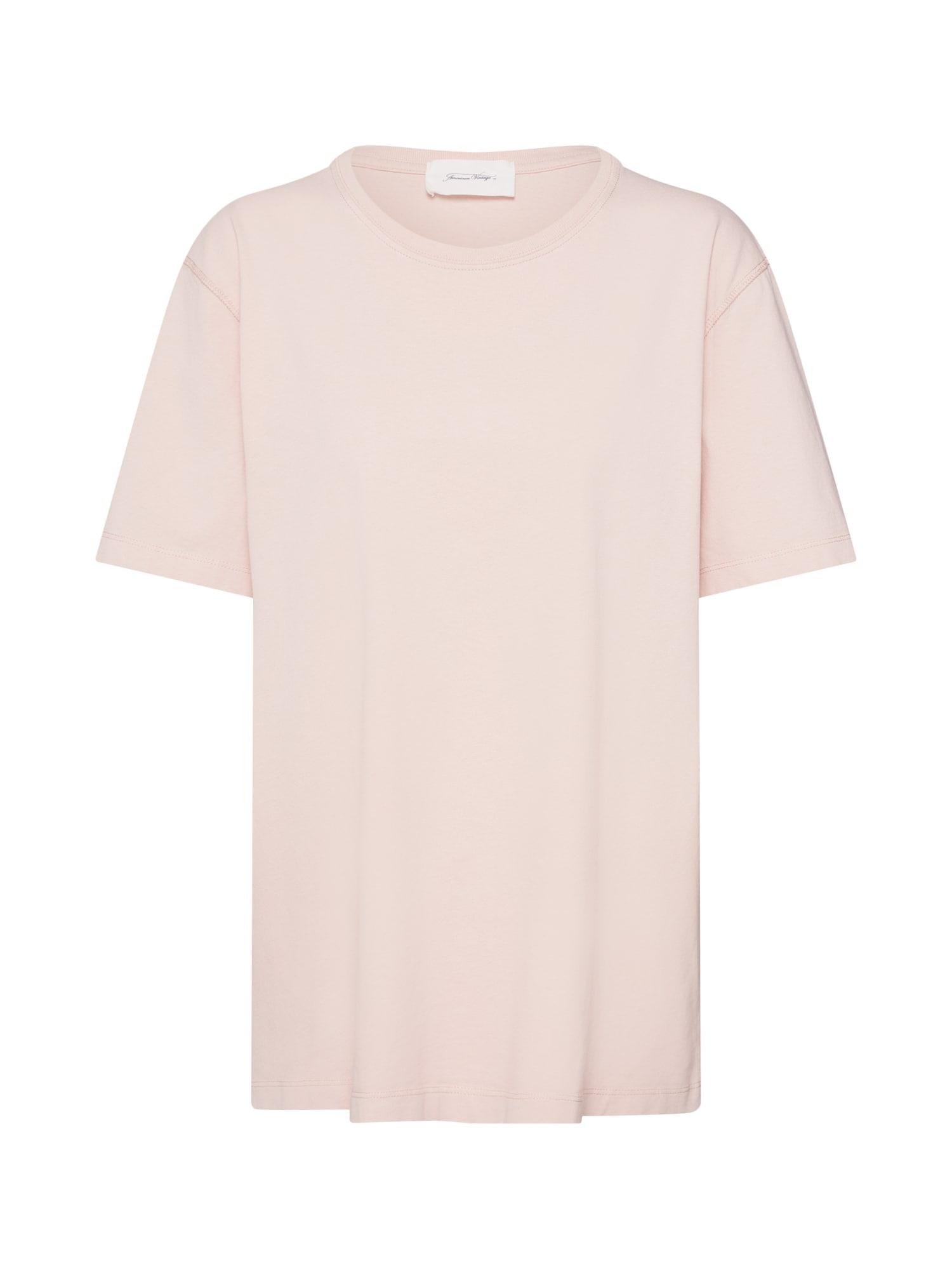 Tričko EXIASTREET růžová AMERICAN VINTAGE