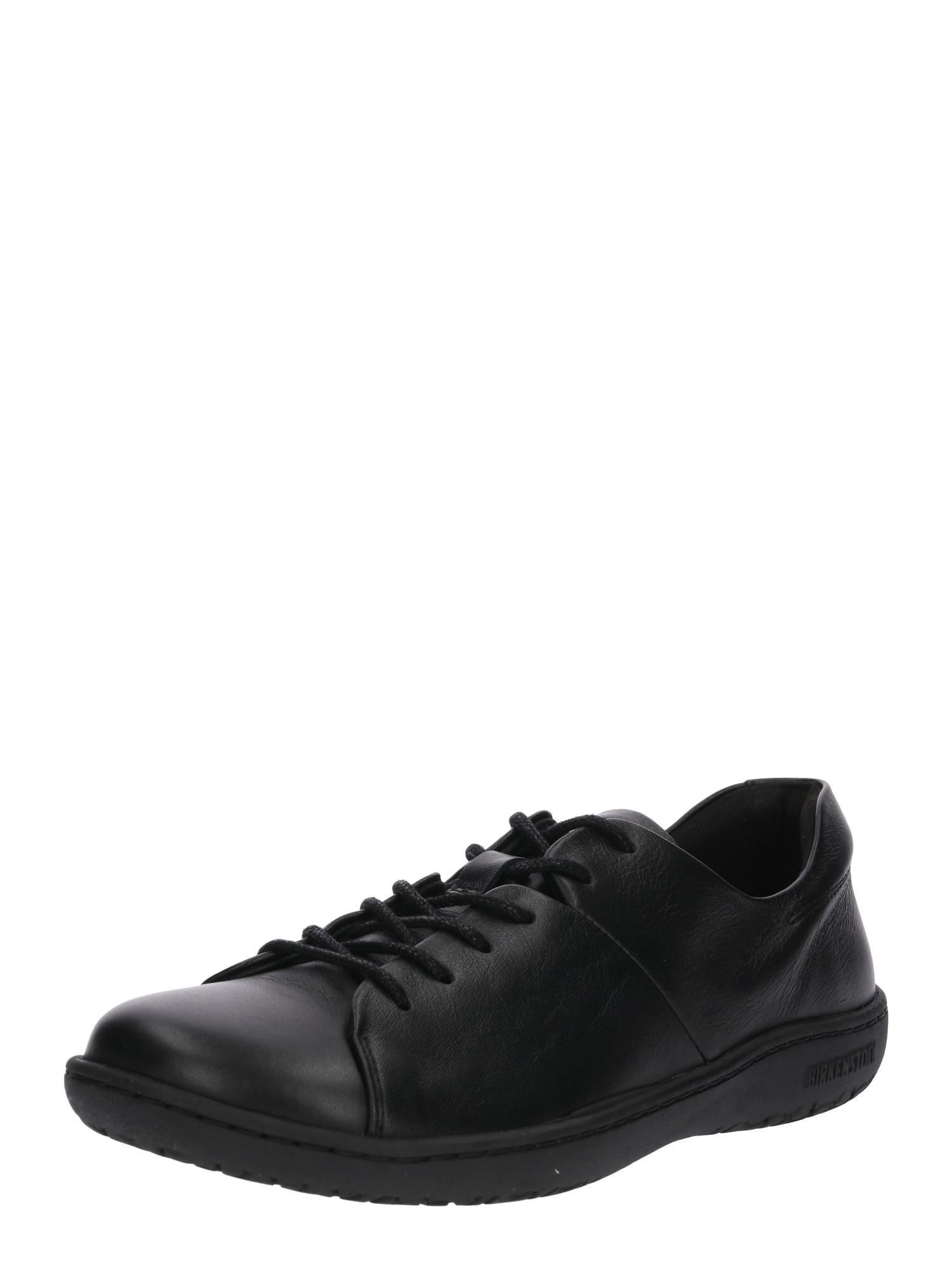 Sportovní šněrovací boty Lora černá BIRKENSTOCK