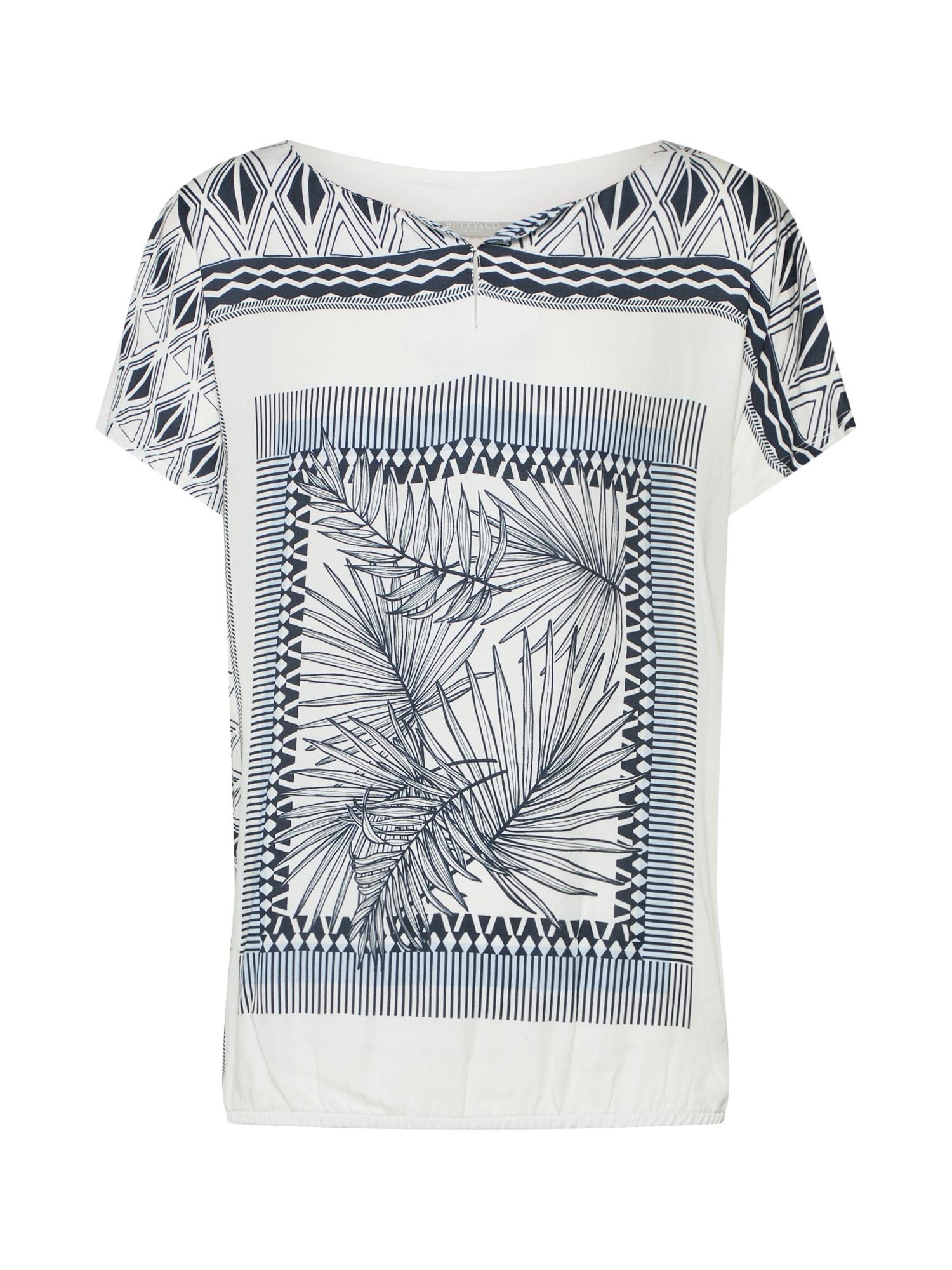 Tričko modrá bílá Betty & Co