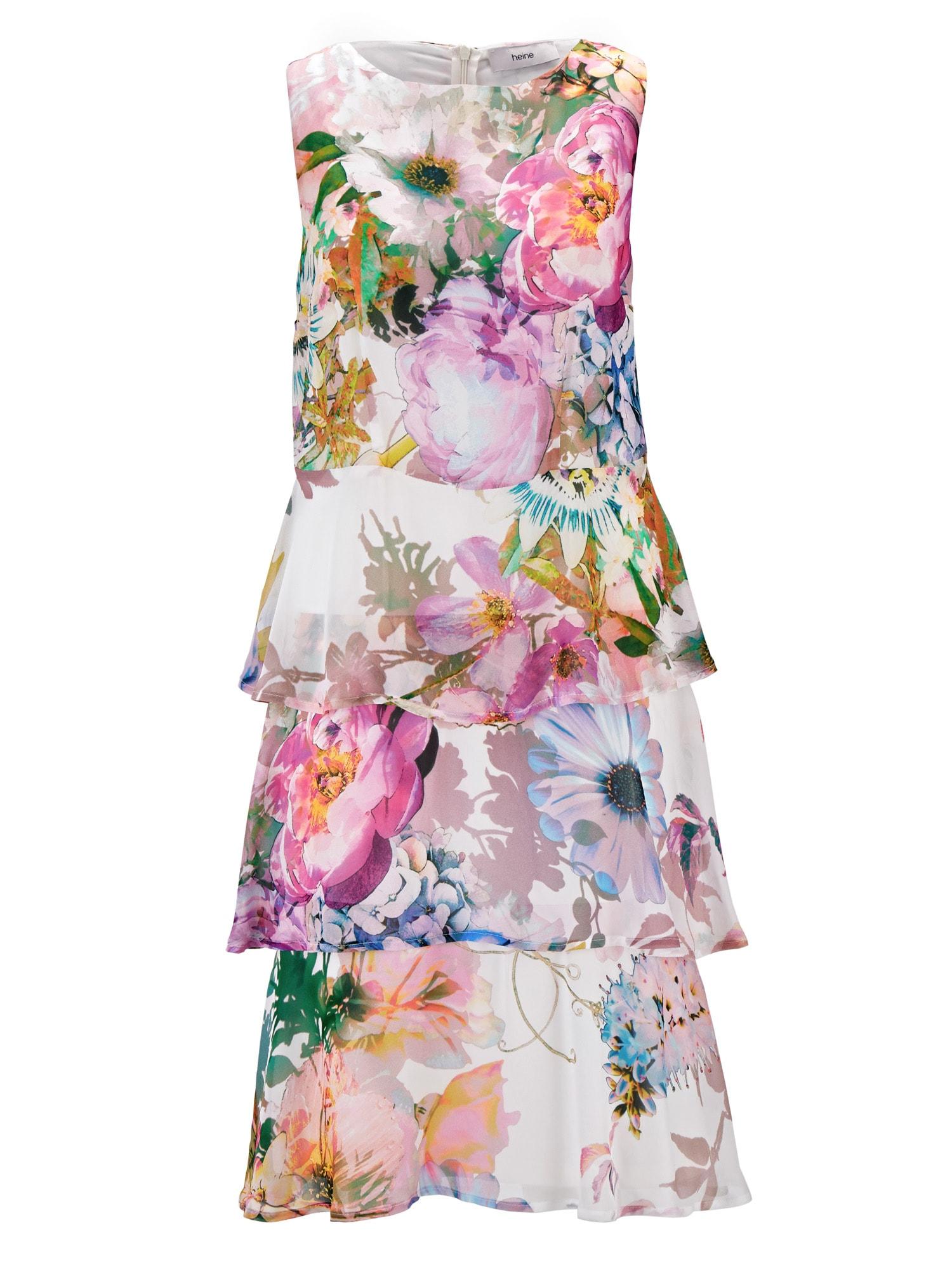 Pouzdrové šaty mix barev Heine