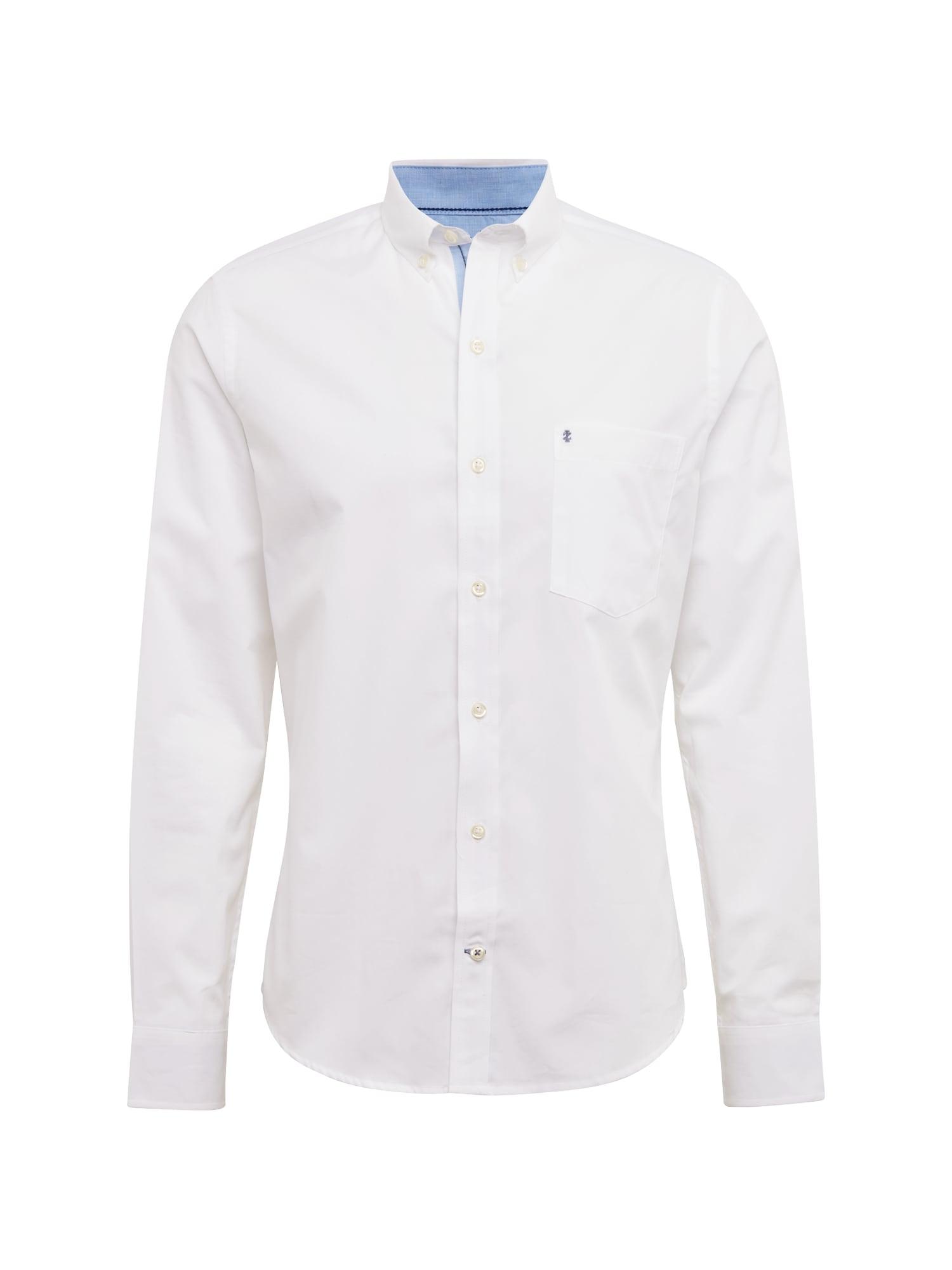 Košile END ON END WITH DETAILS BD SHIRT bílá IZOD