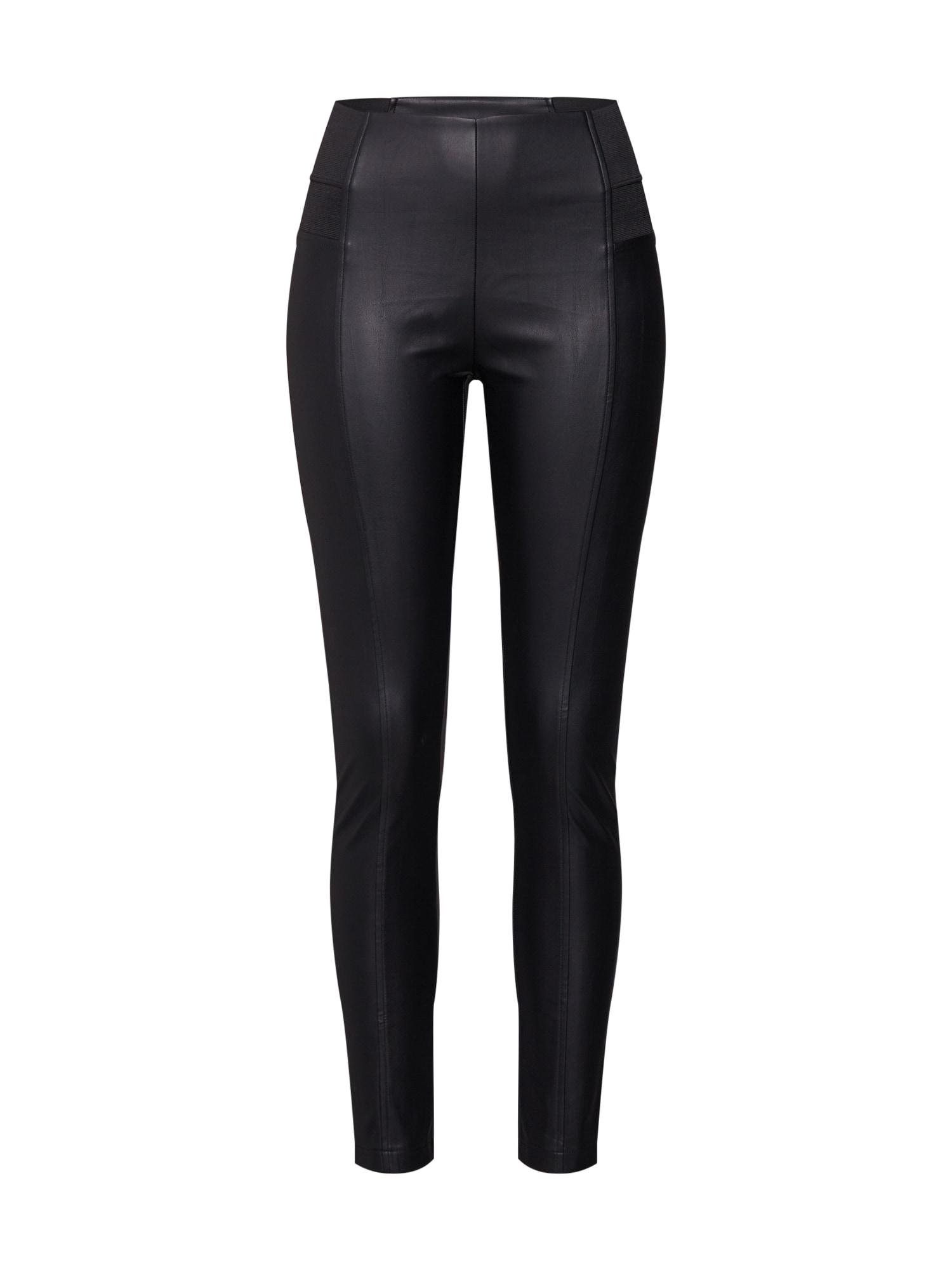 Lederimitathose | Bekleidung > Hosen > Lederhosen & Kunstlederhosen | Schwarz | GLAMOROUS