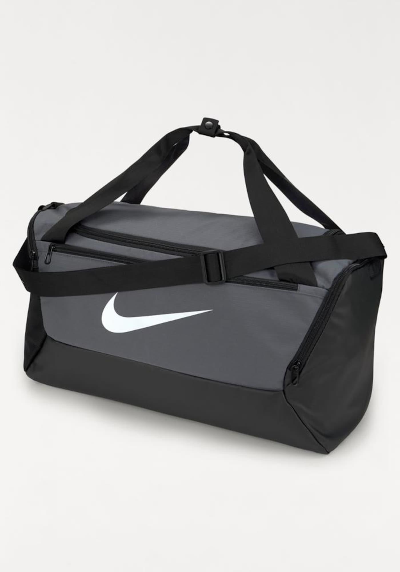 NIKE Sportovní taška 'BRSLA S DUFF - 9.0'  šedá
