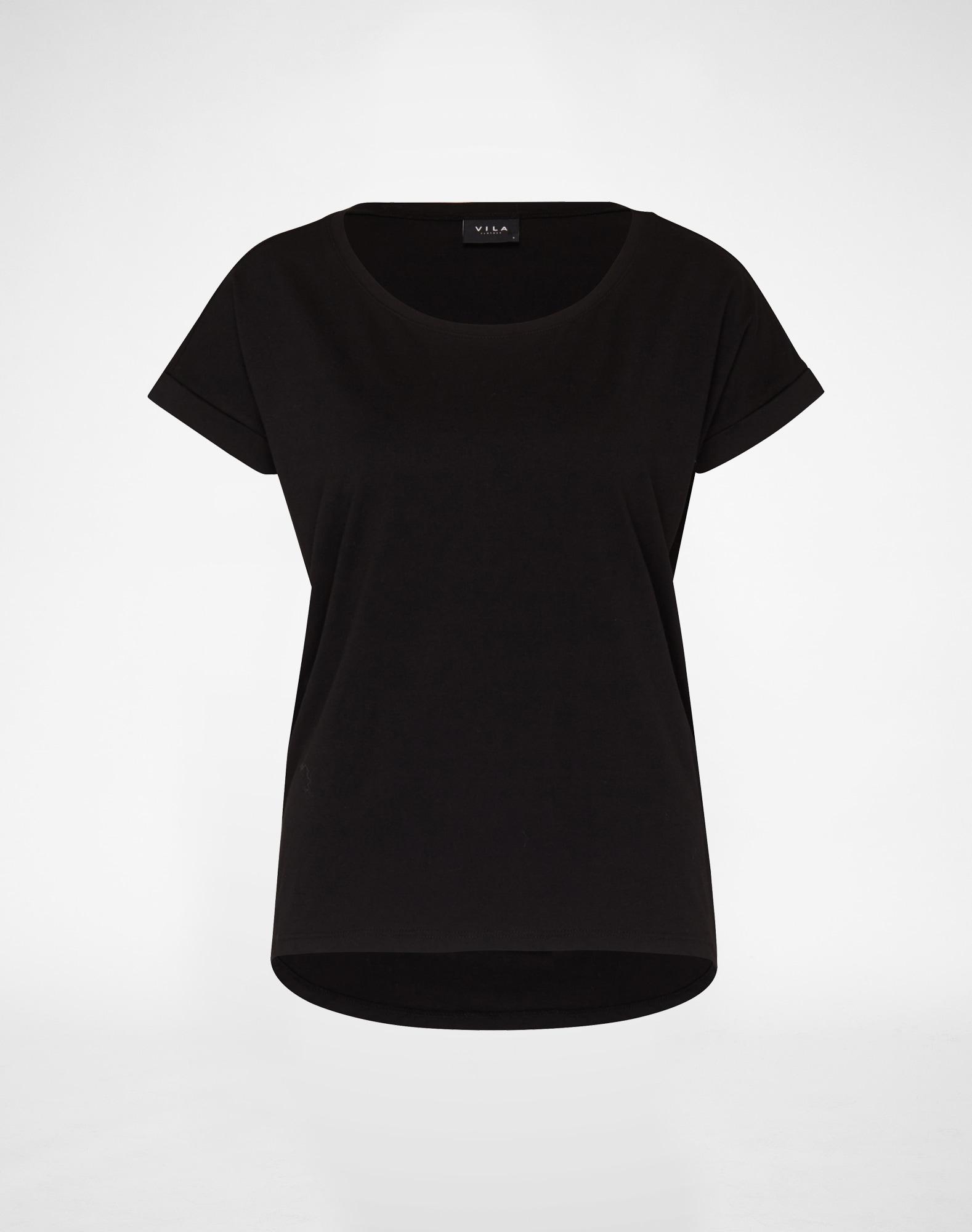VILA, Dames Shirt 'Dreamers', zwart