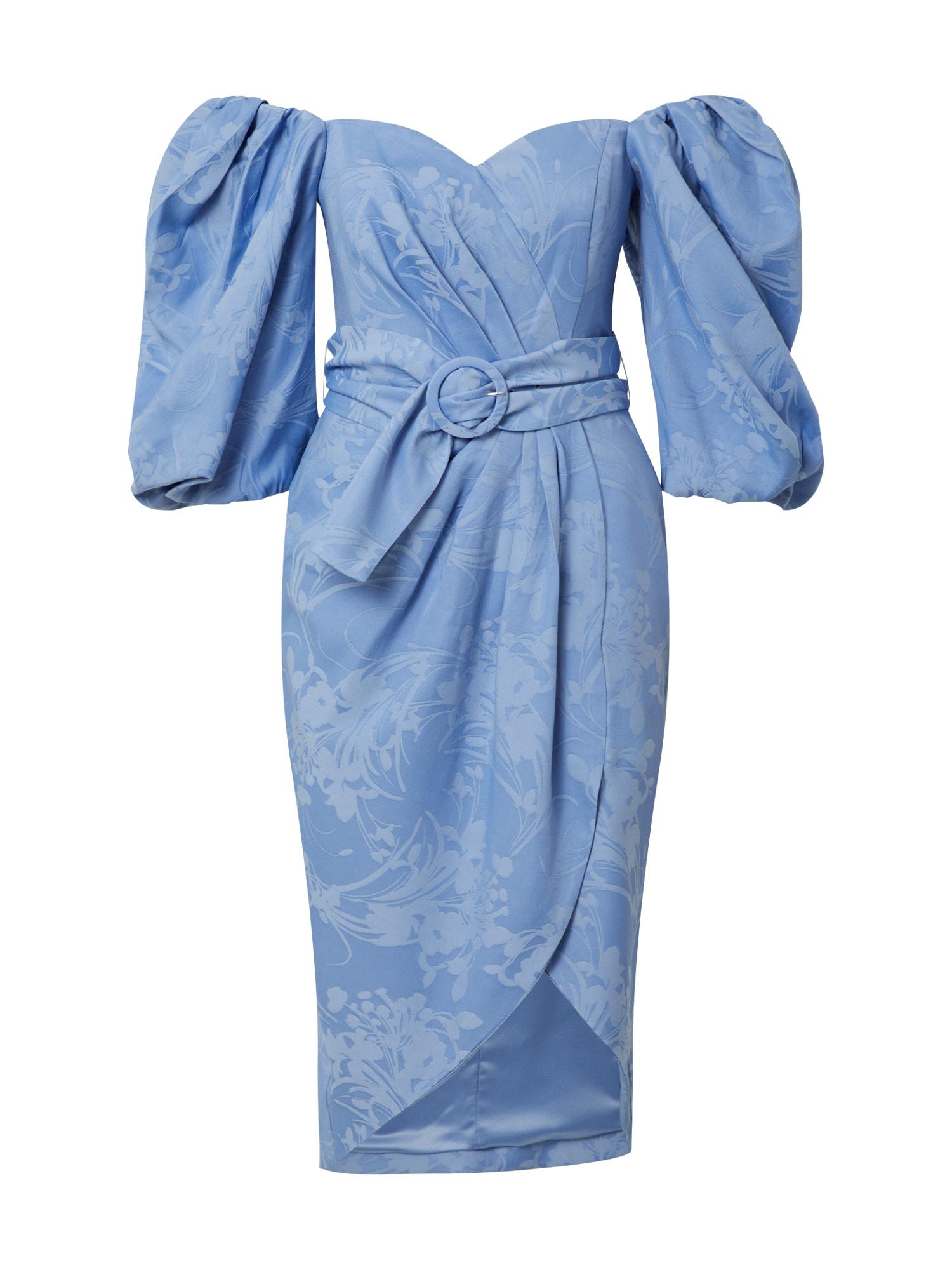 Forever New Koktejlové šaty 'Elmira'  modrá