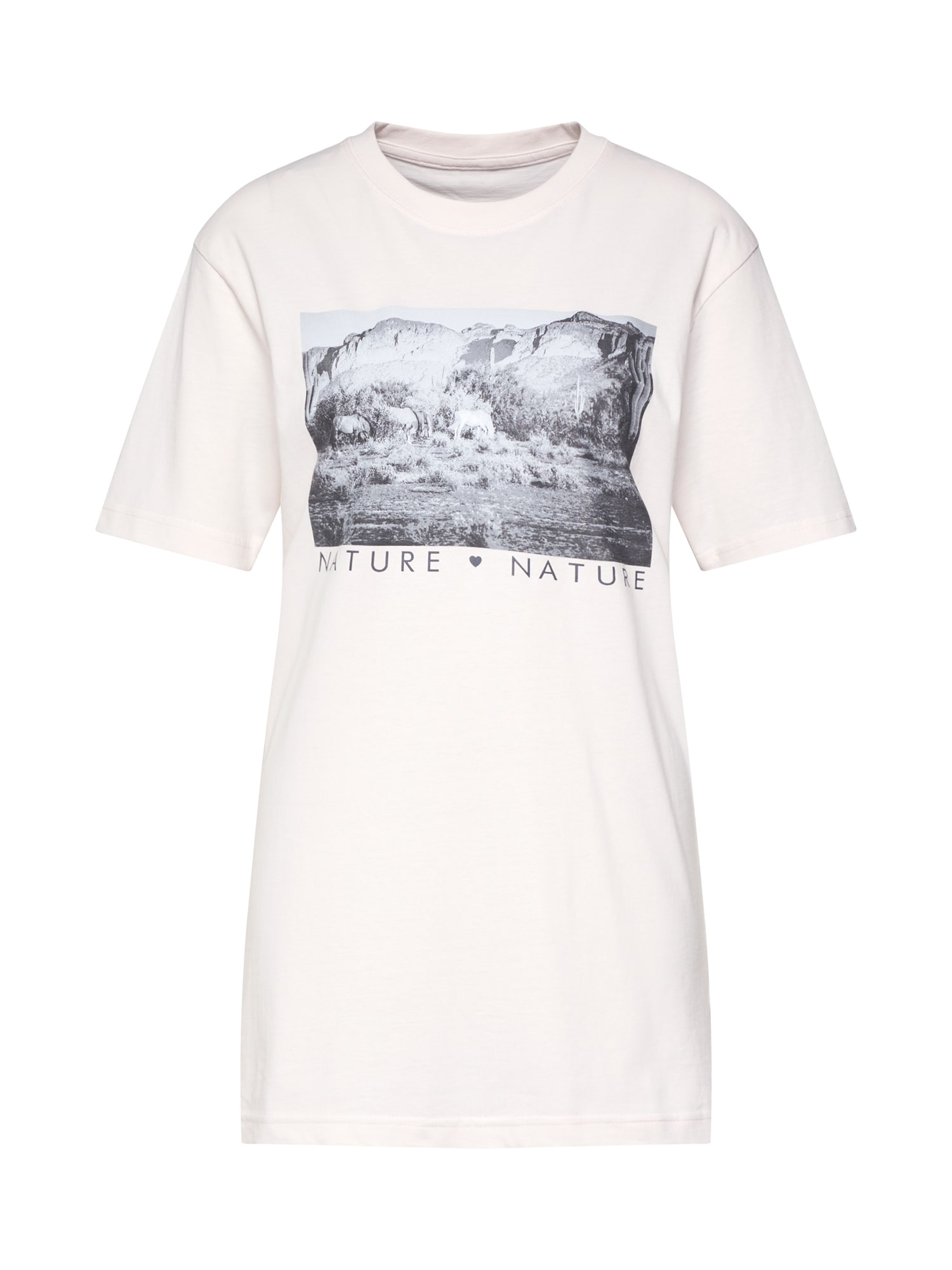 Tričko Love Nature růžová Merchcode