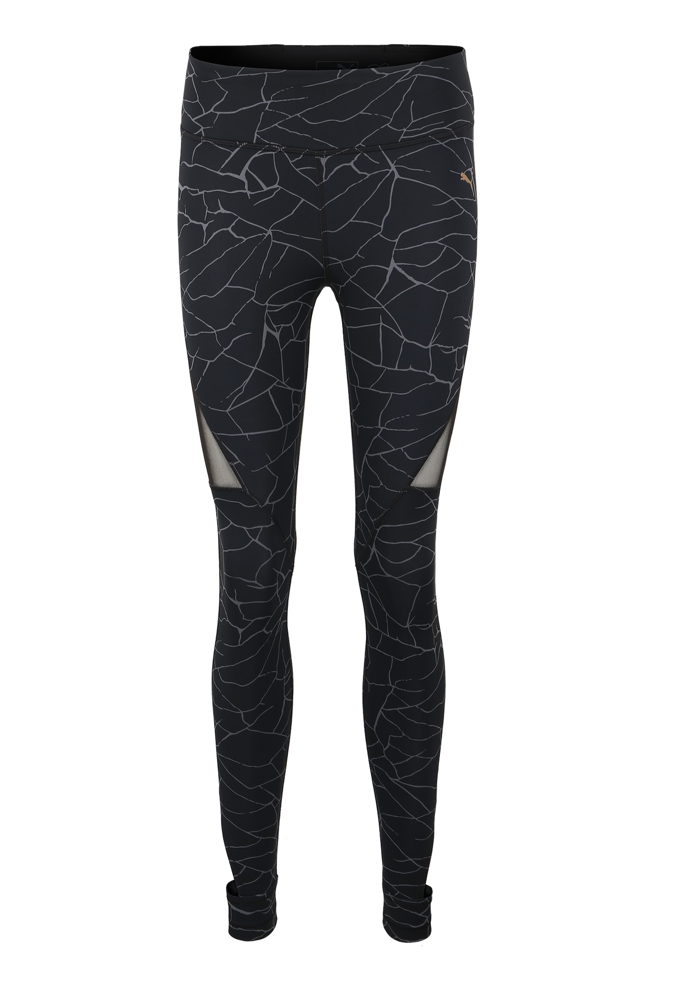 Sportovní kalhoty Explosive Graphic Tight šedá černá PUMA
