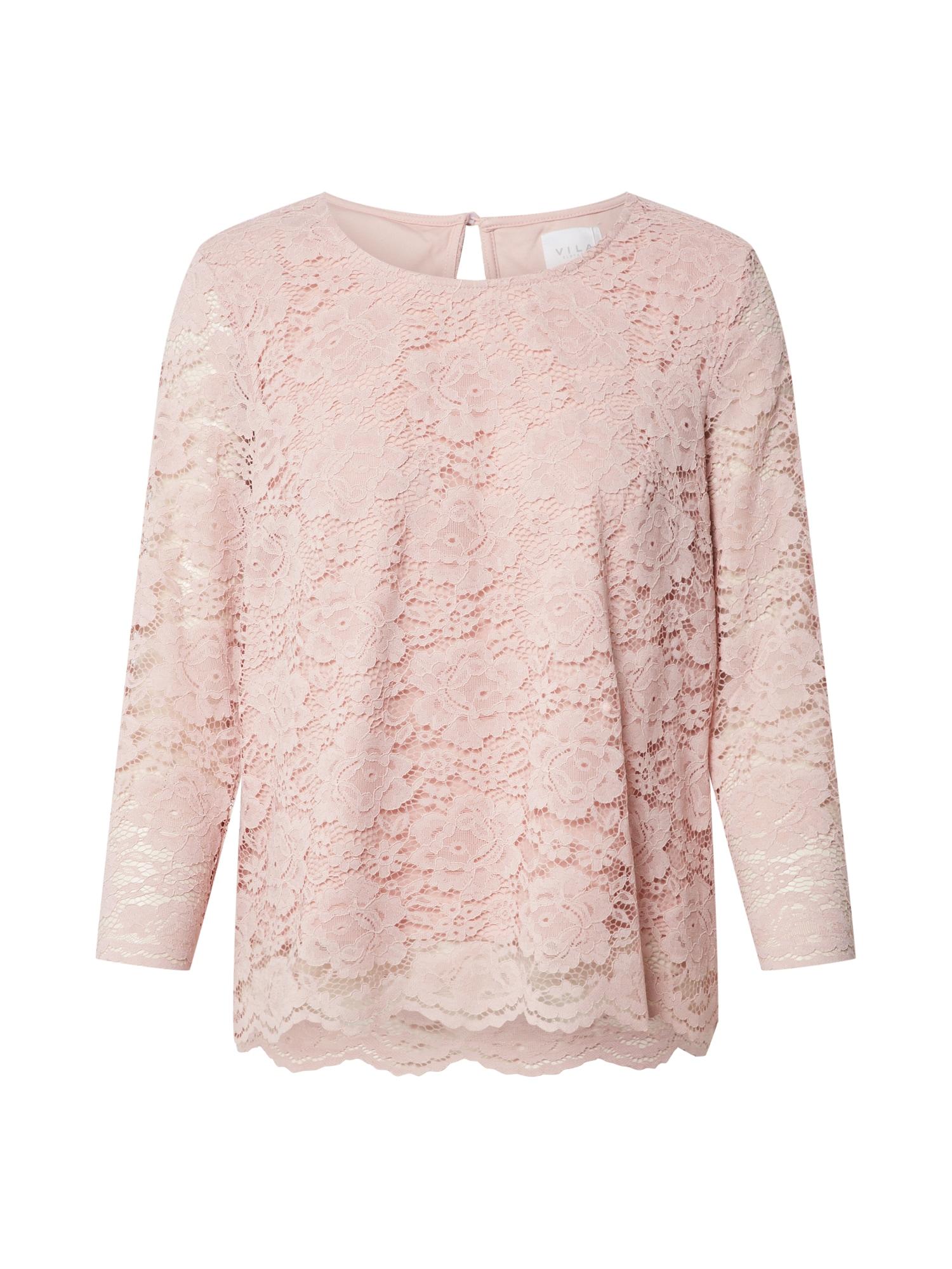 VILA Tričko 'VICARA'  pink