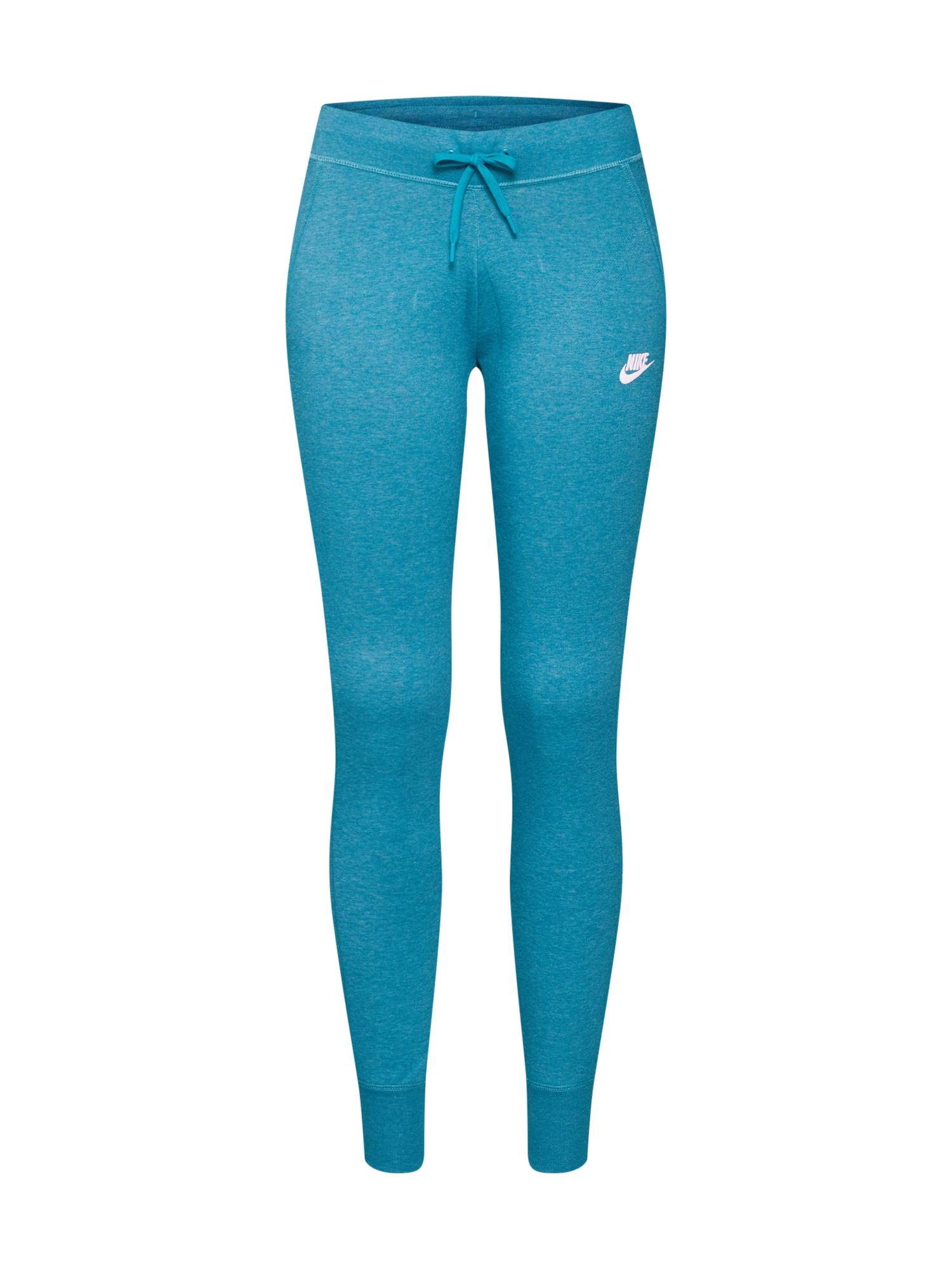 Kalhoty petrolejová Nike Sportswear