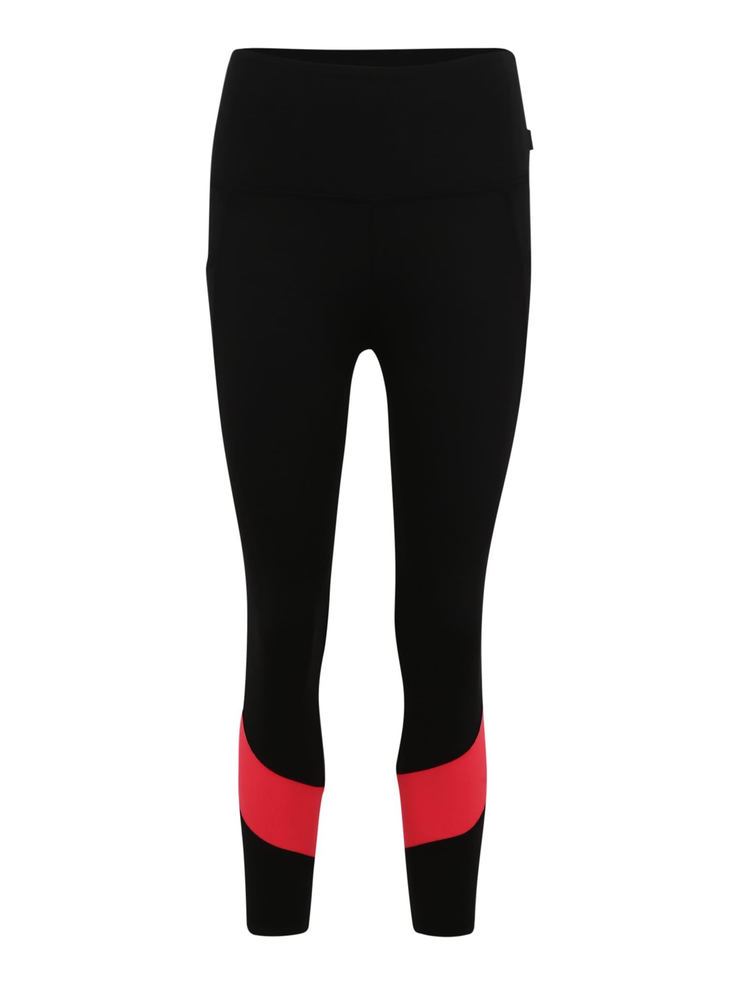 Sportovní kalhoty NELLIE MID CALF korálová černá Marika