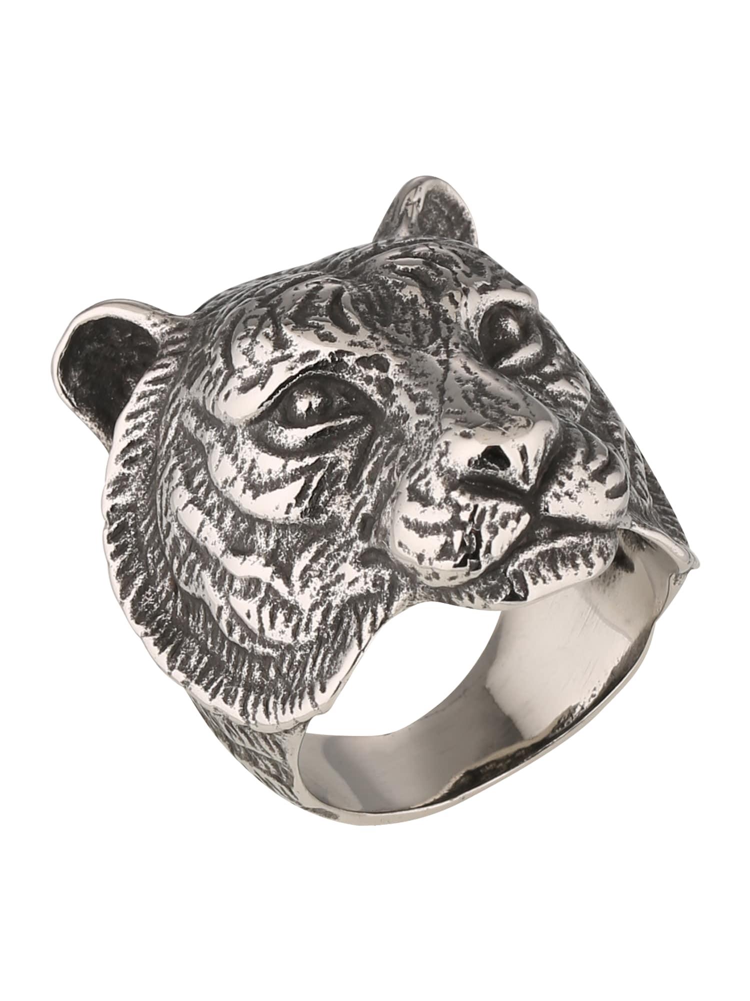 Prsten Tiger stříbrná ROYAL-EGO
