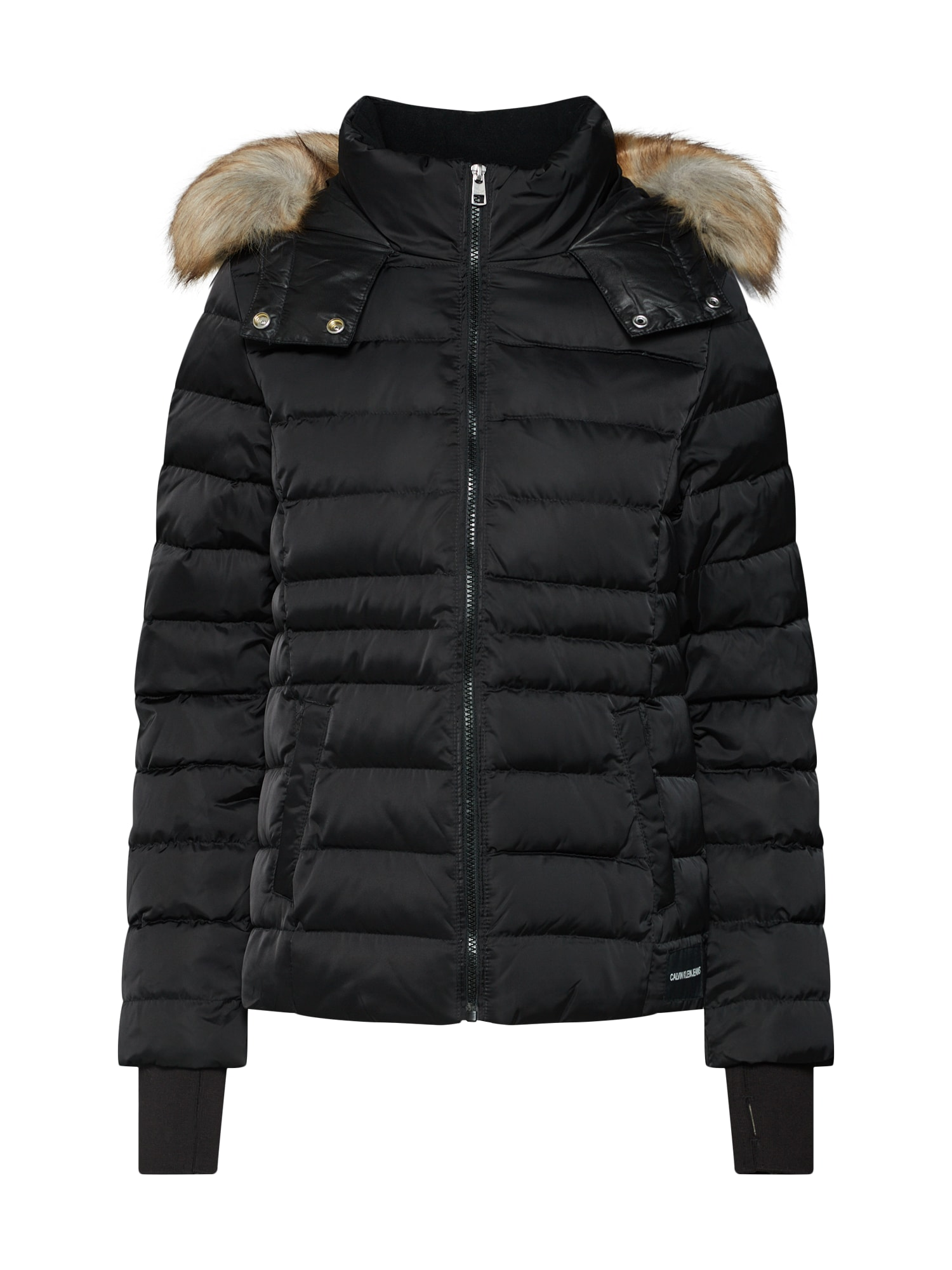 Zimní bunda černá Calvin Klein Jeans