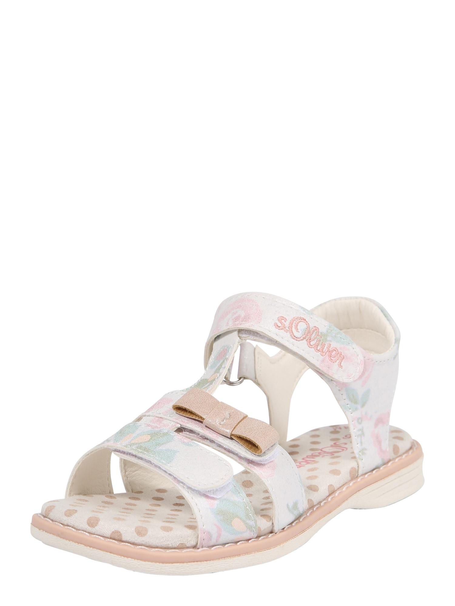 Sandály mix barev bílá S.Oliver Junior