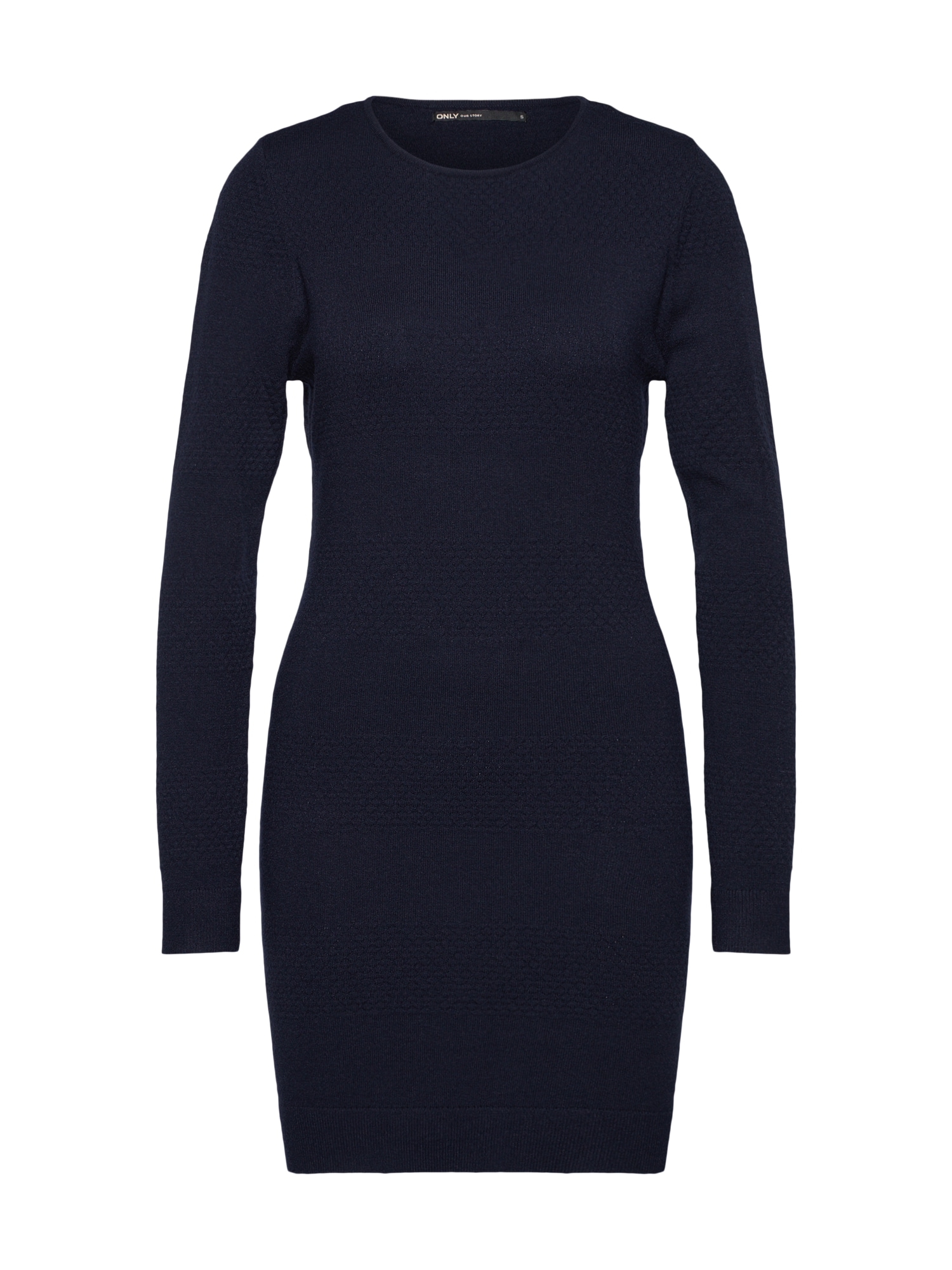 Úpletové šaty noční modrá ONLY