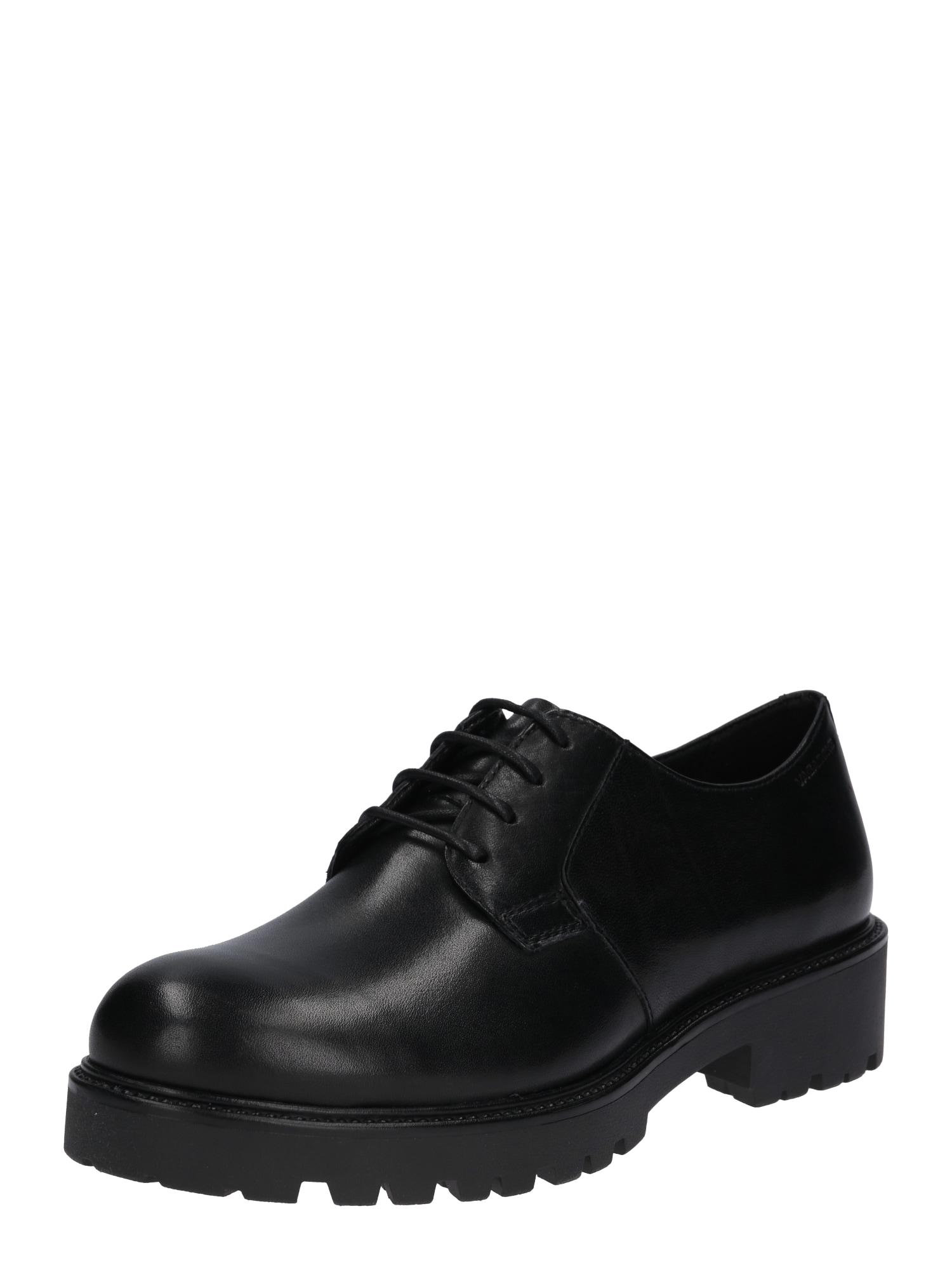 Šněrovací boty Kenova černá VAGABOND SHOEMAKERS
