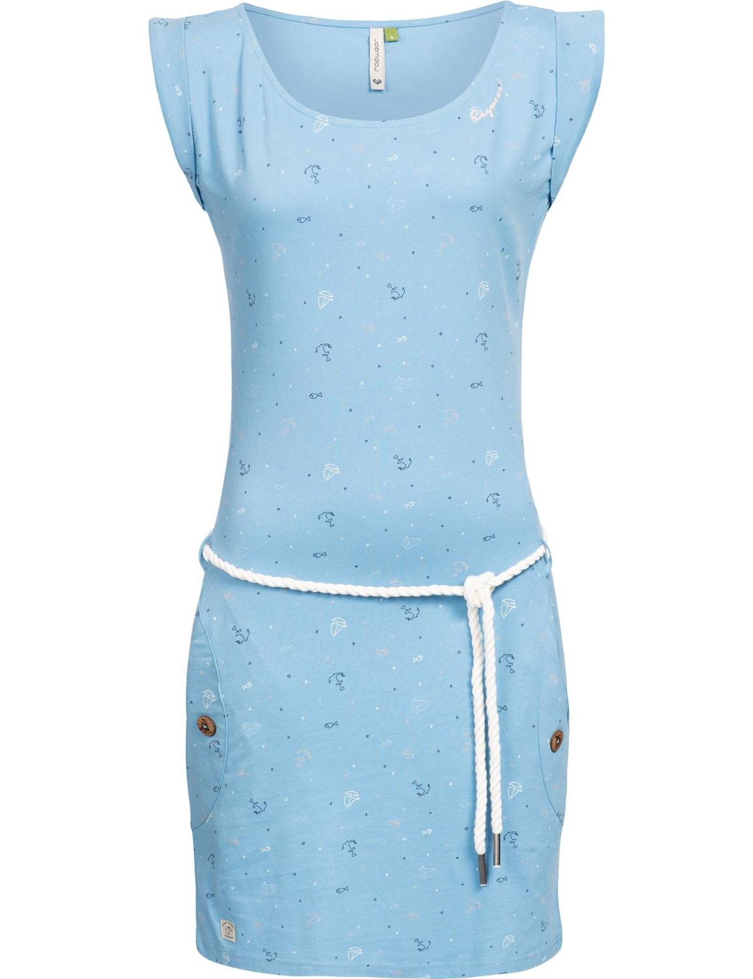 Letní šaty světlemodrá mix barev Ragwear