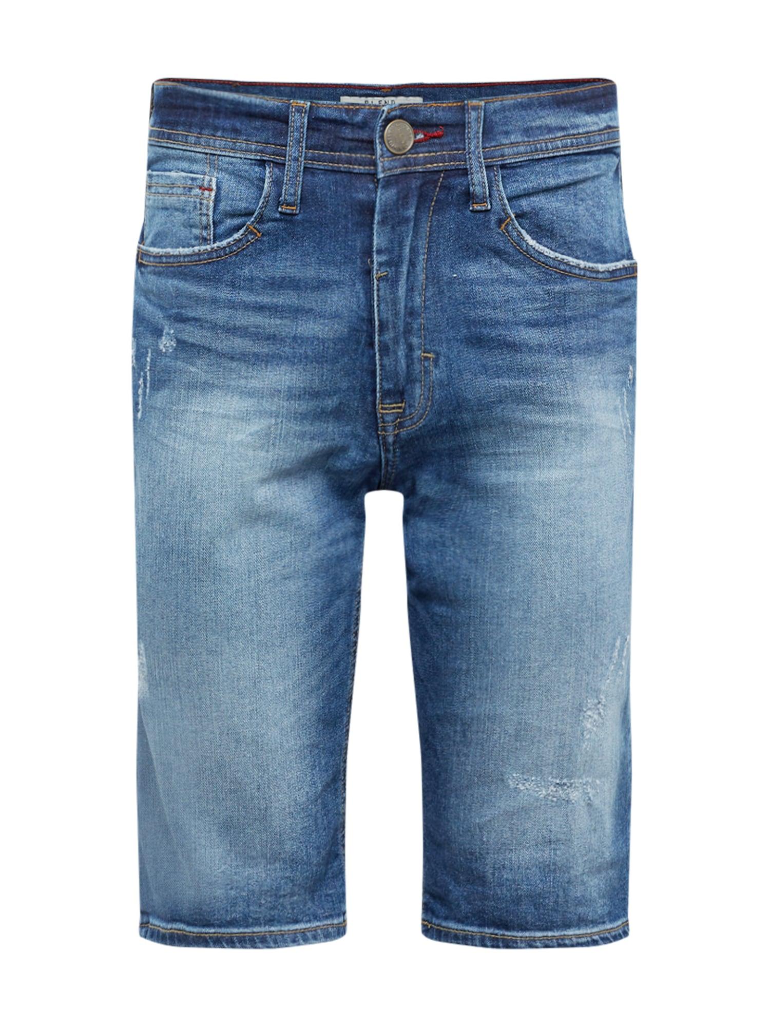 Džíny Denim Shorts Twister Slim blue denim BLEND