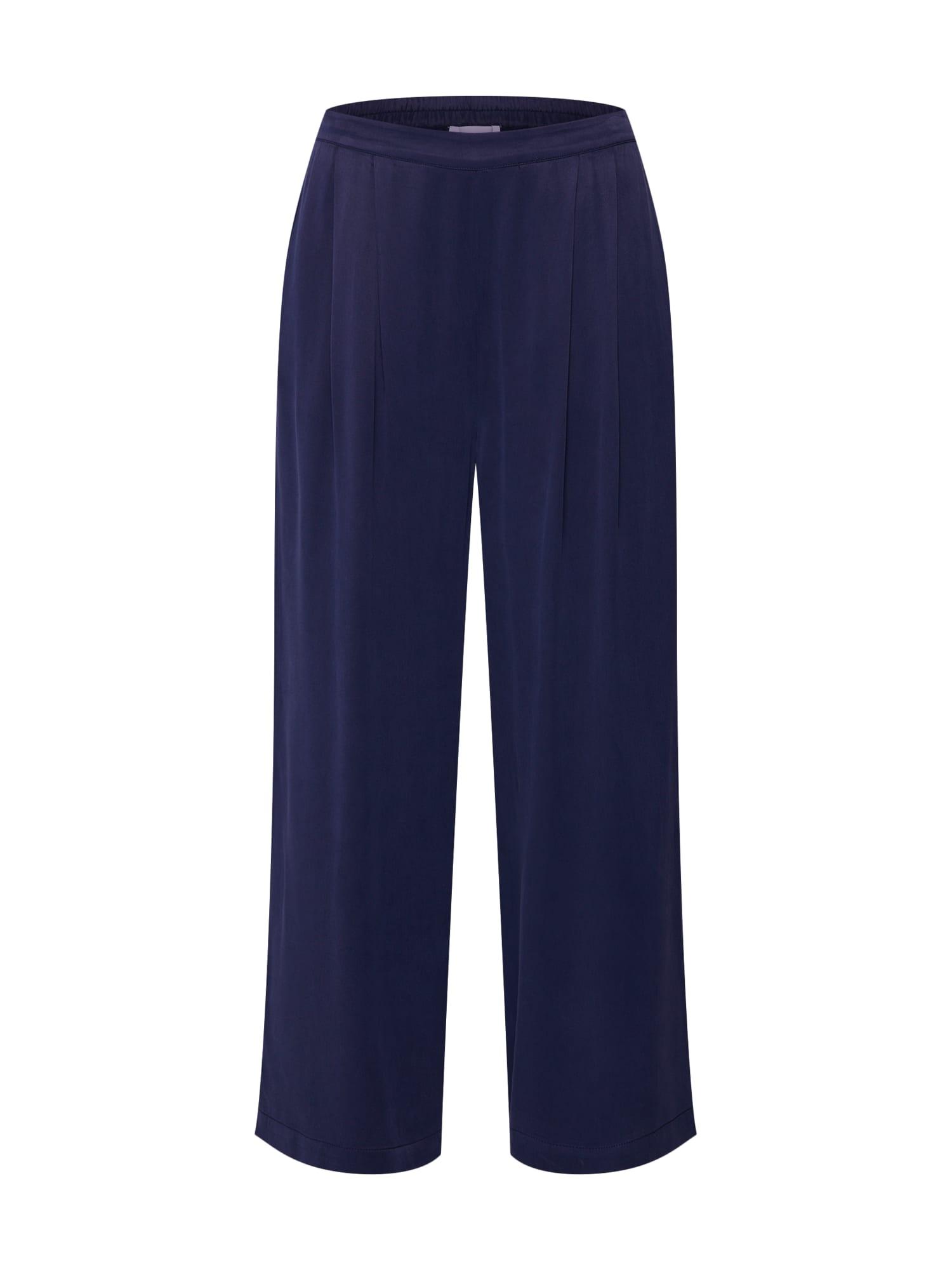 Kalhoty modrá Samsoe & Samsoe