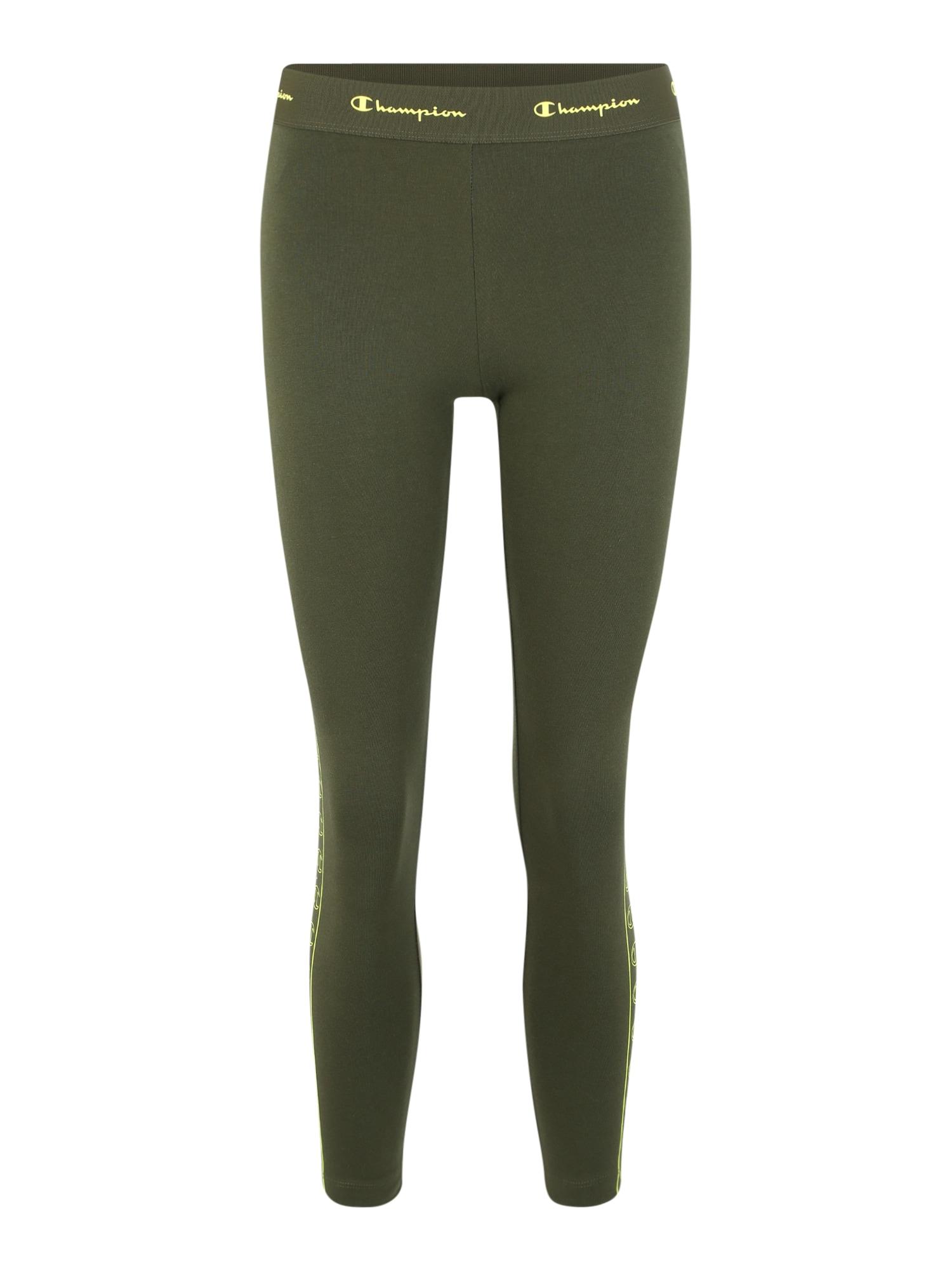 Sportovní kalhoty tmavě zelená Champion Authentic Athletic Apparel