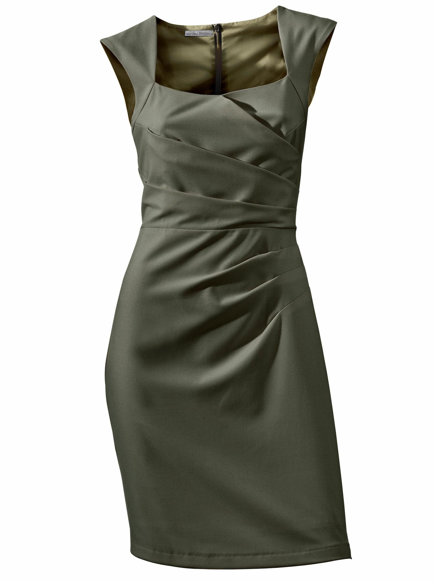 Pouzdrové šaty khaki Heine