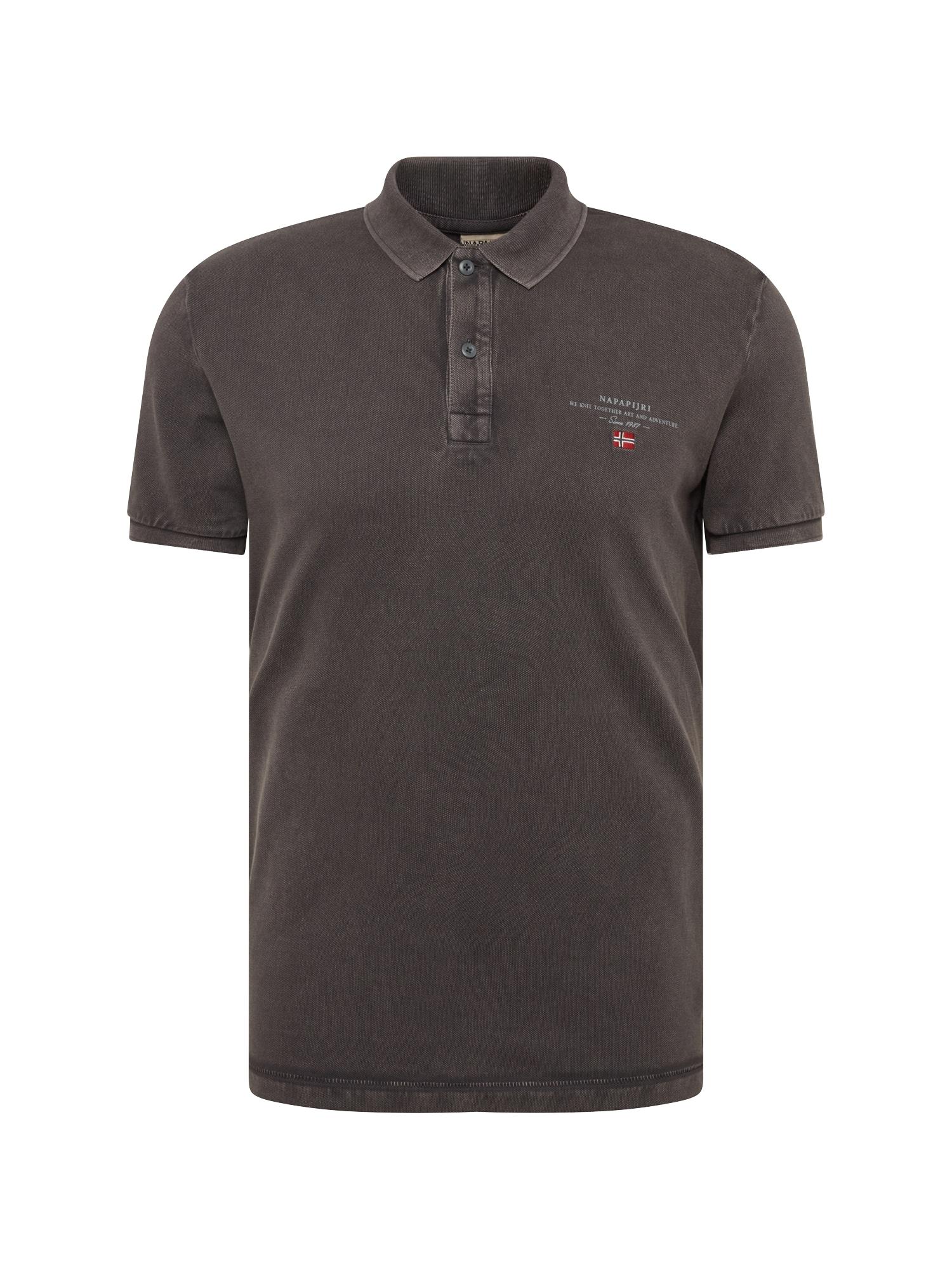 Tričko Elbas 2 tmavě šedá NAPAPIJRI