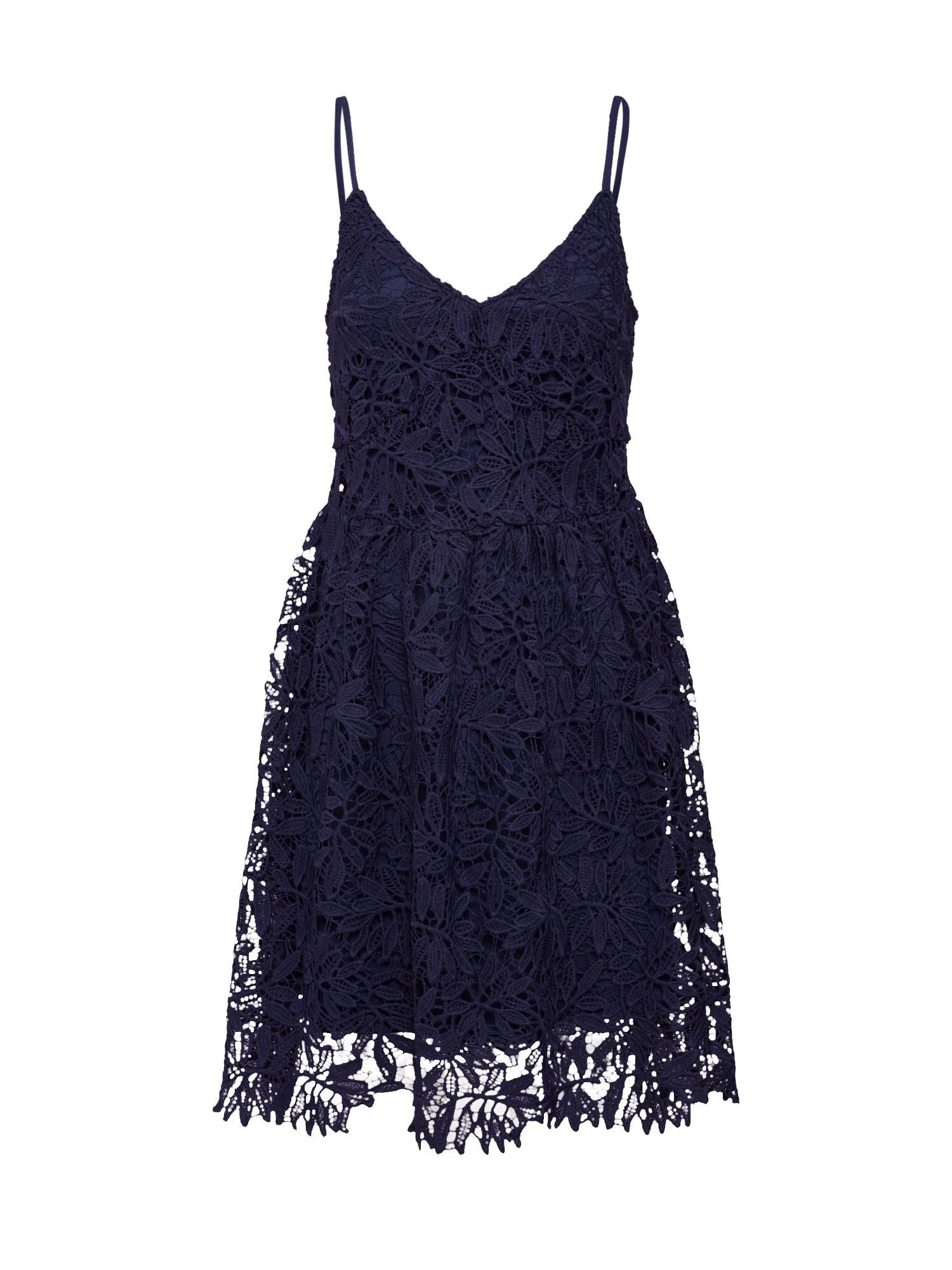 Letní šaty Luna námořnická modř VERO MODA