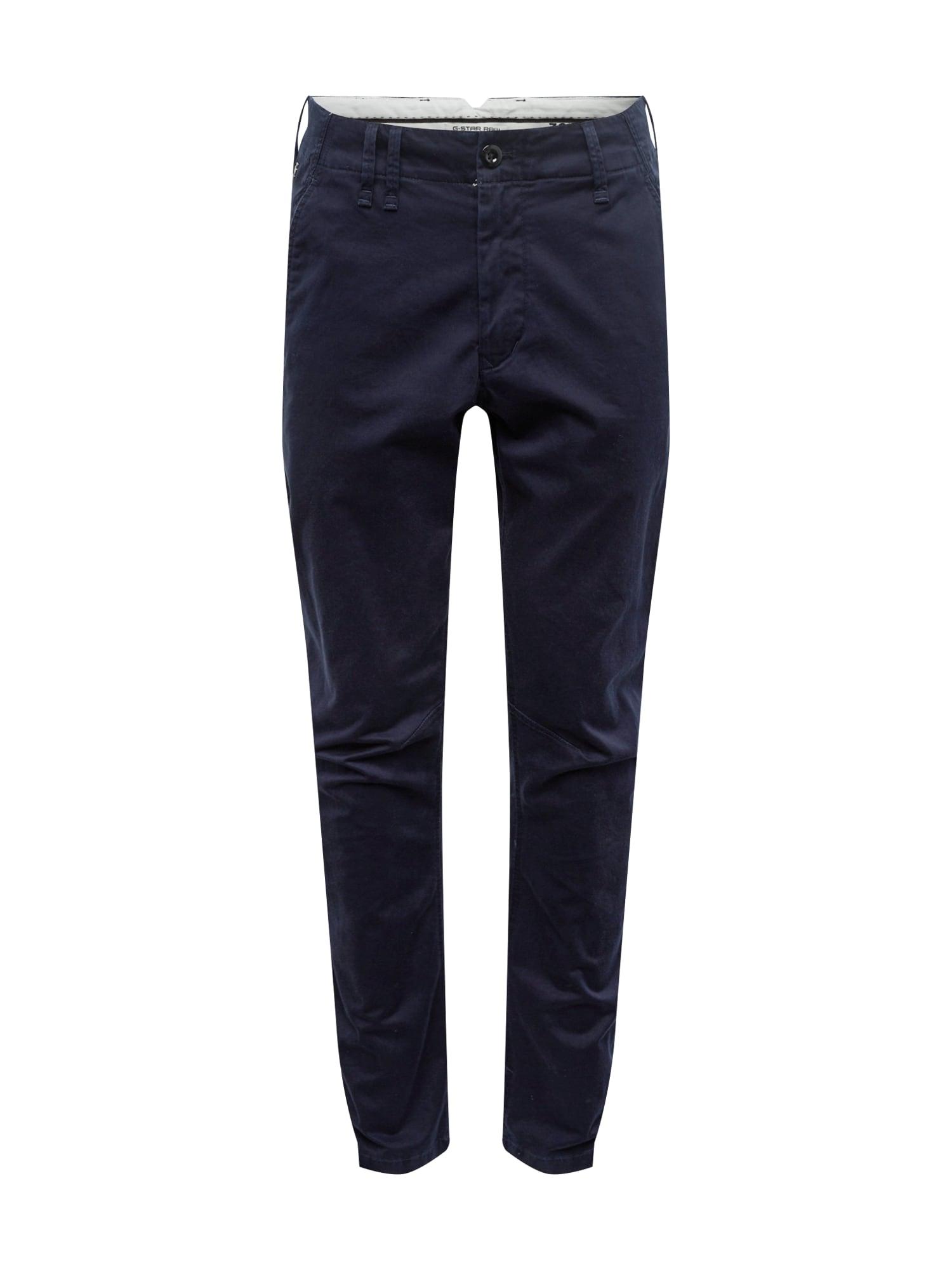Chino kalhoty Vetar ultramarínová modř G-STAR RAW