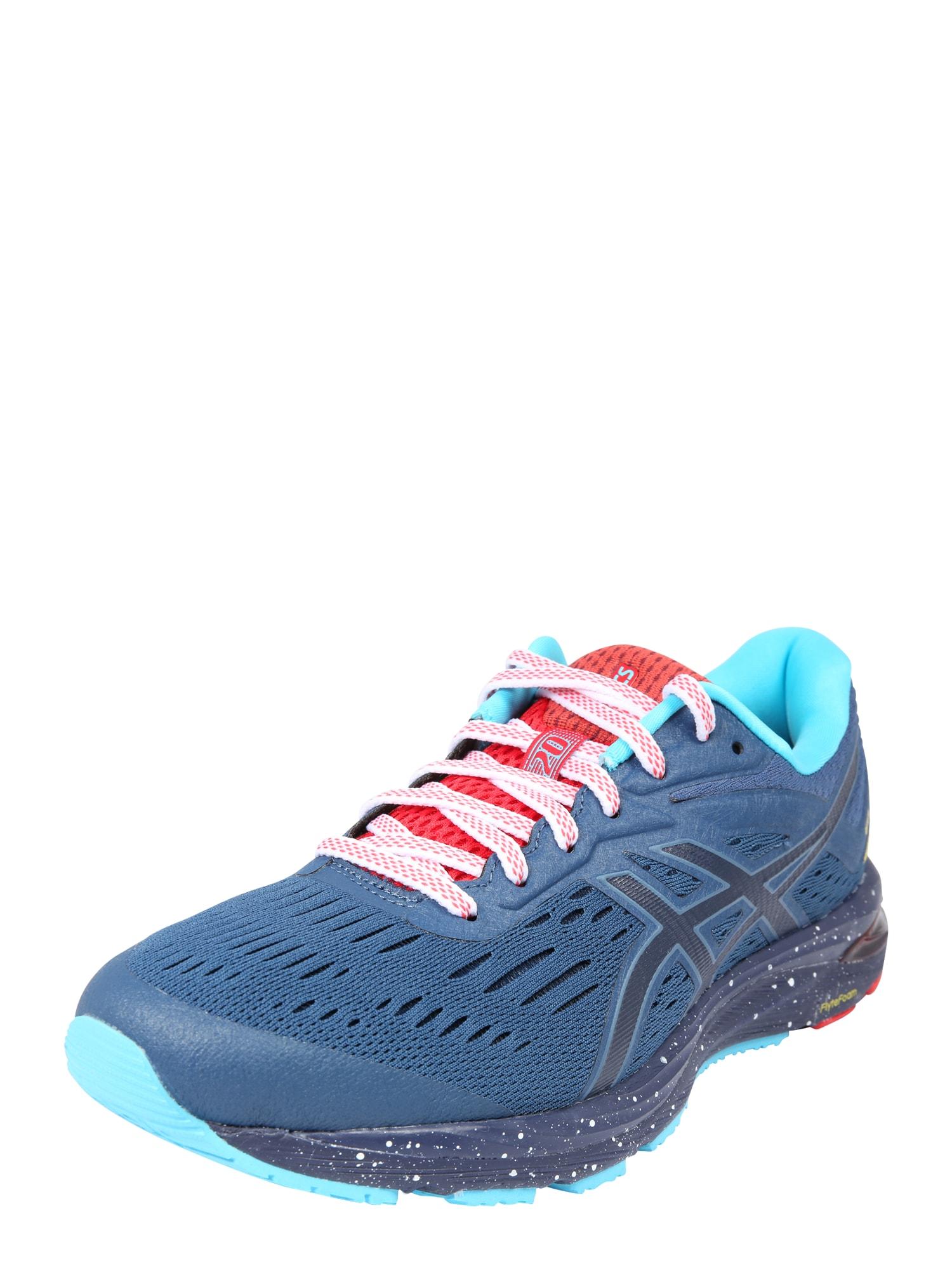 Sportovní boty Gel-Cumulus 20 LE azurová modrá nebeská modř svítivě červená ASICS