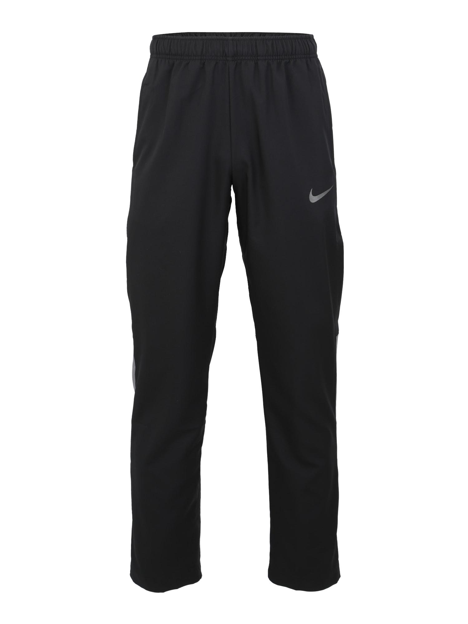 Sportovní kalhoty Dry Team Woven černá NIKE
