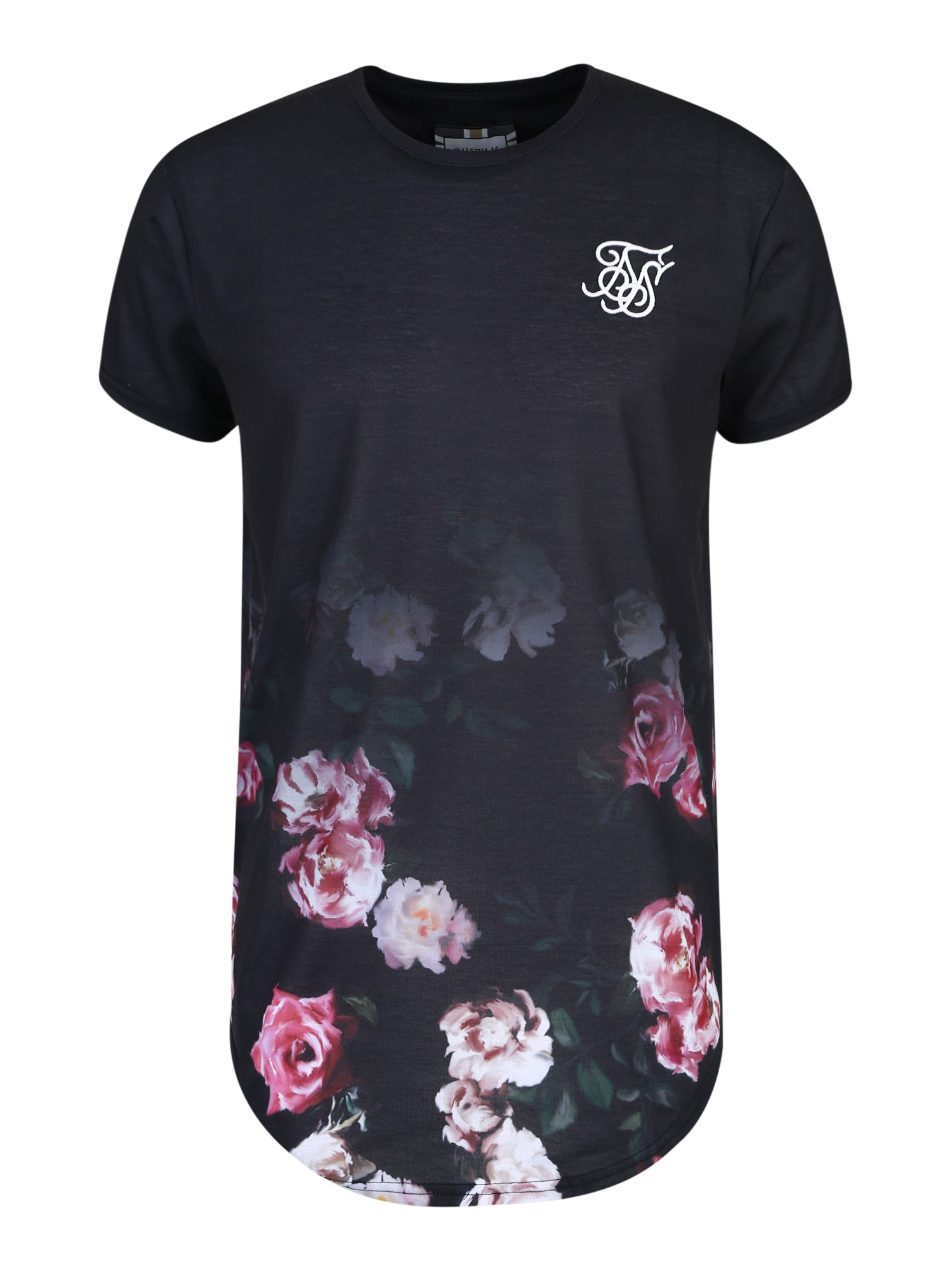 Tričko růžová černá SikSilk