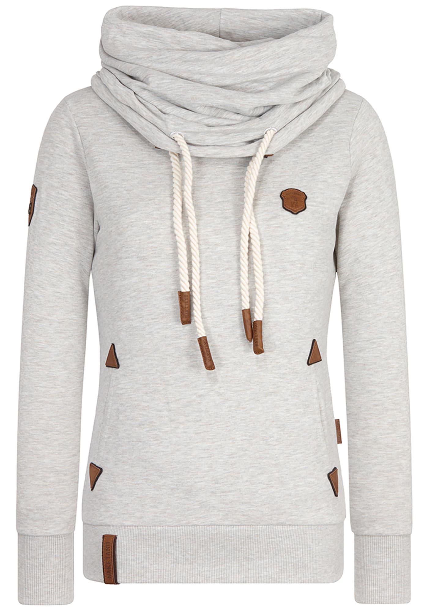Naketano, Dames Sweatshirt, stone grey