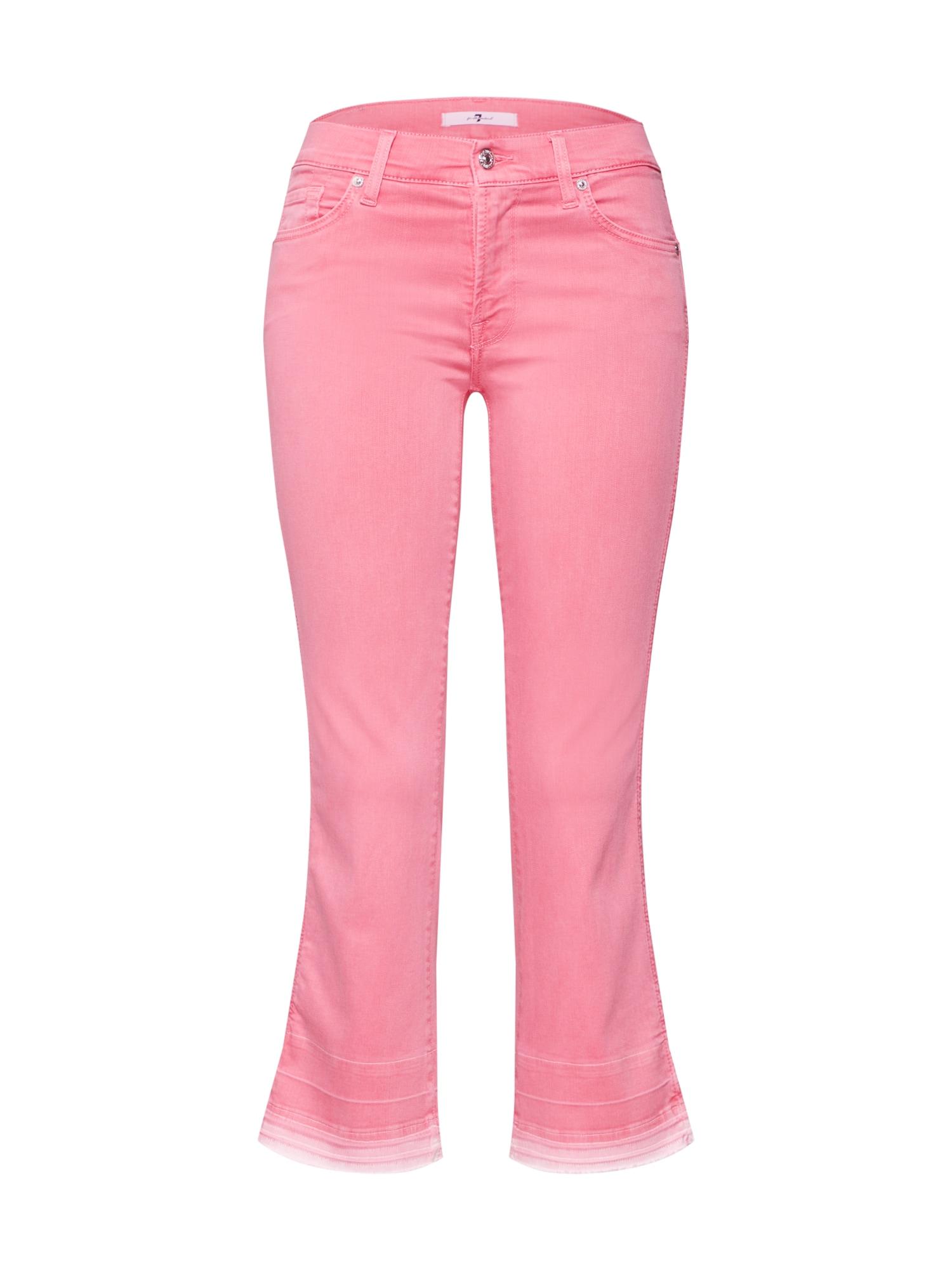 Džíny pink 7 For All Mankind