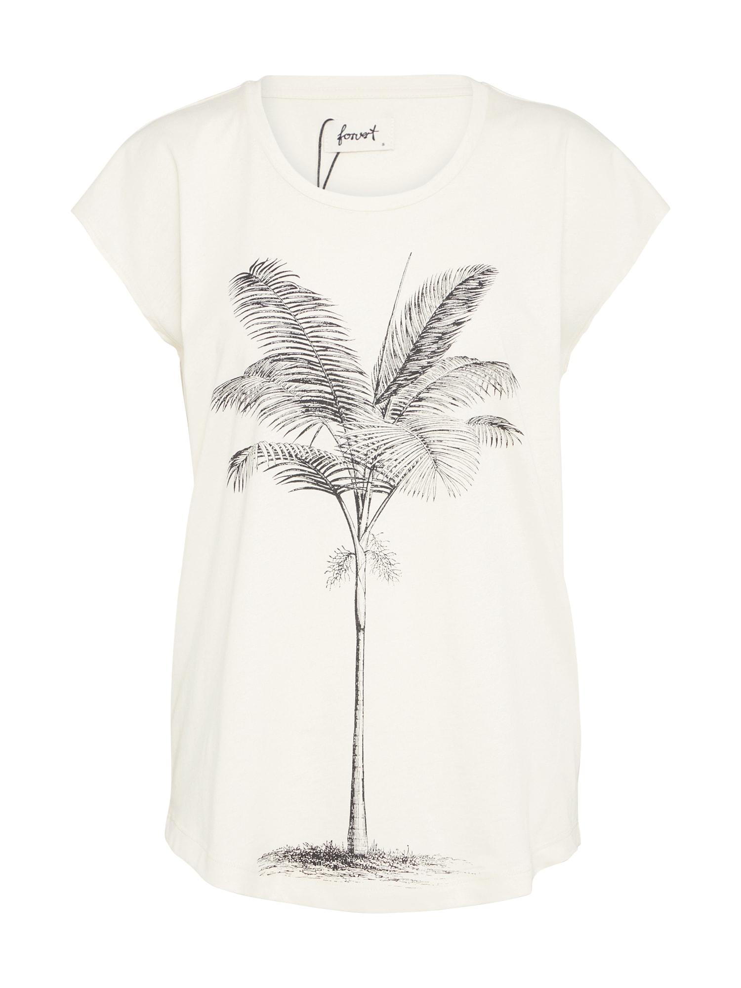 Tričko Irma antracitová přírodní bílá Forvert