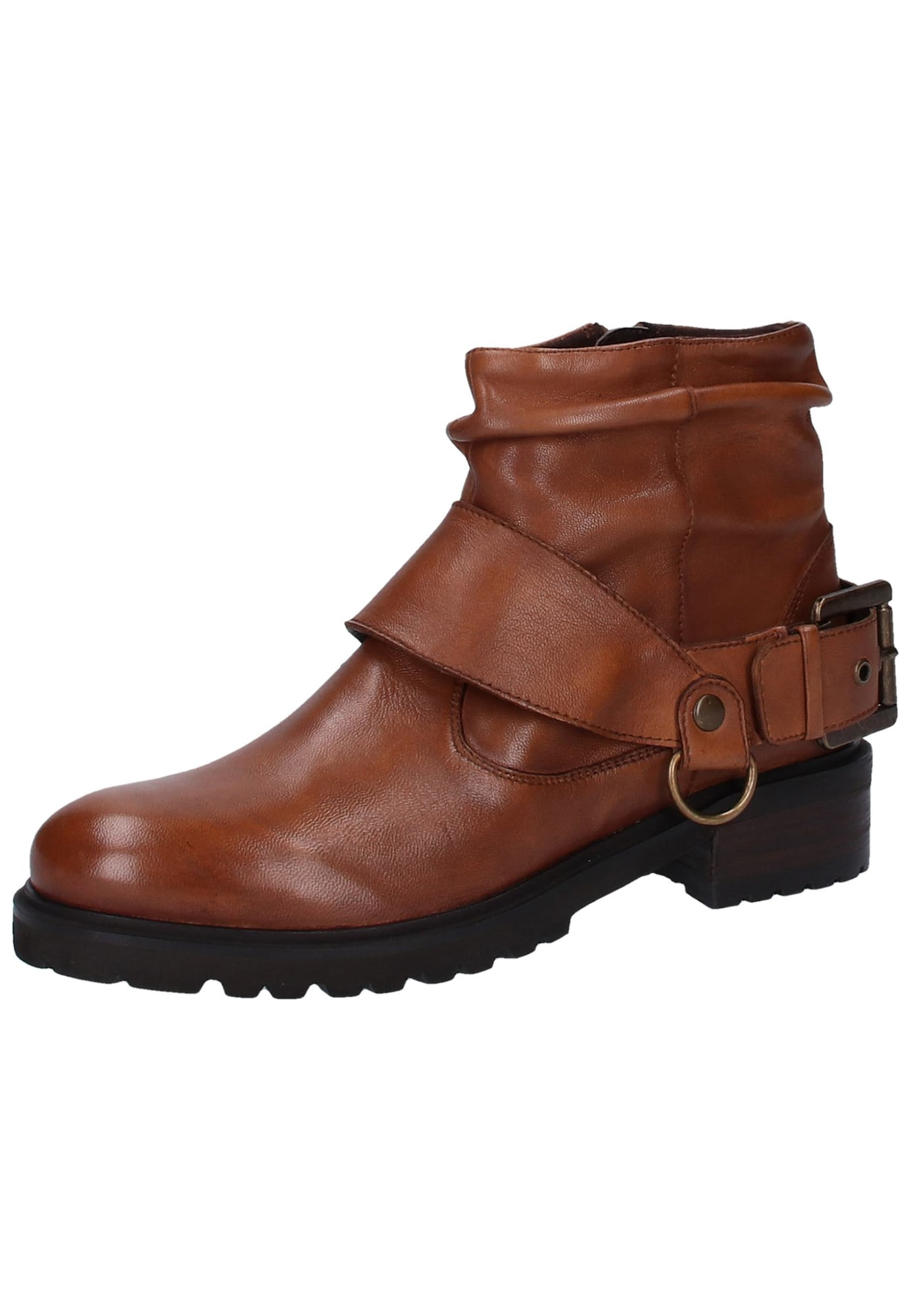 Kotníkové boty Jihaa hnědá SPM