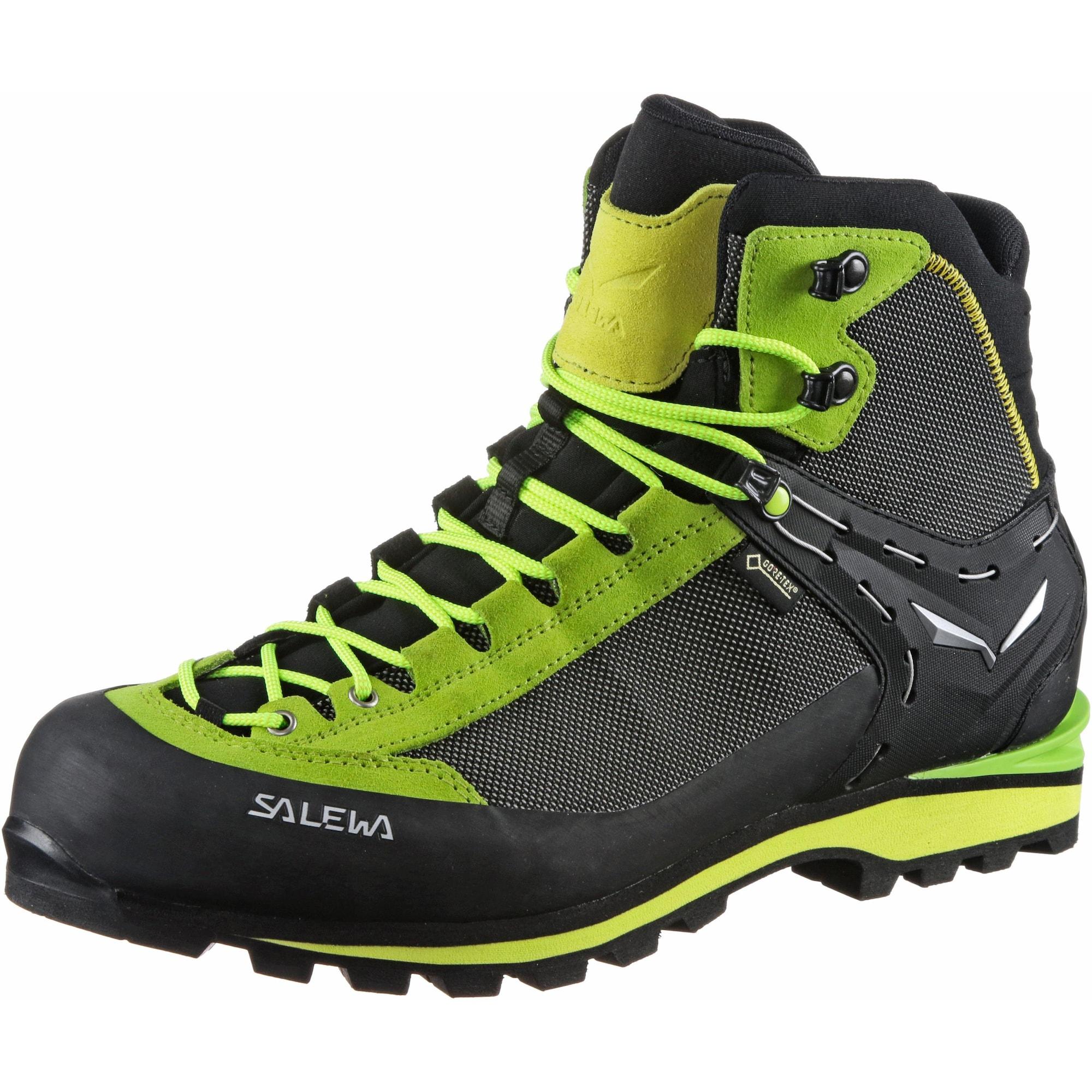 Alpine Bergschuhe 'MS CROW GTX' | Schuhe > Outdoorschuhe > Bergschuhe | Hellgrün - Schwarz | SALEWA